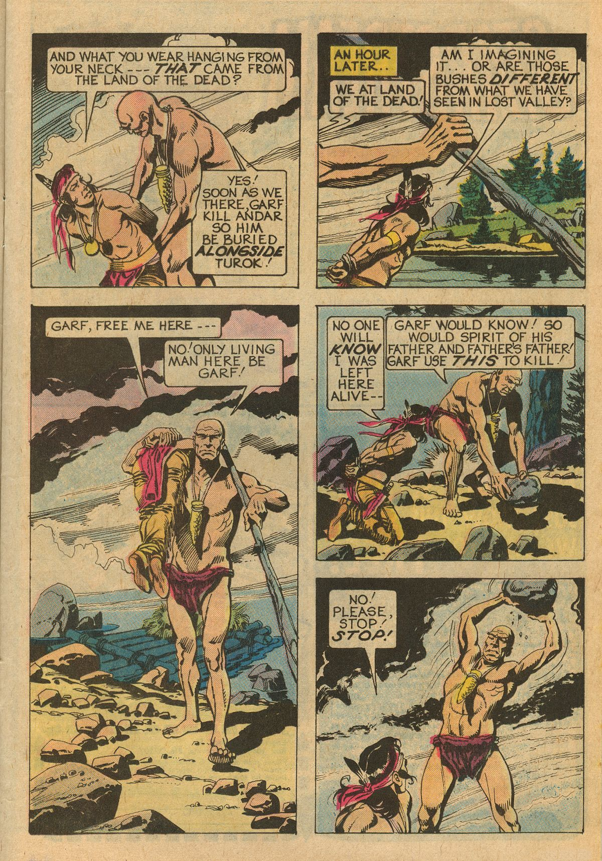 Read online Turok, Son of Stone comic -  Issue #111 - 13