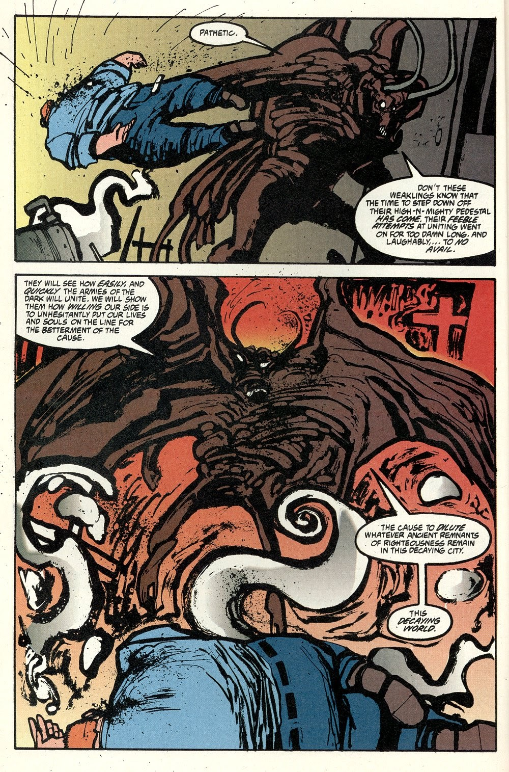 Read online Ted McKeever's Metropol comic -  Issue #11 - 6