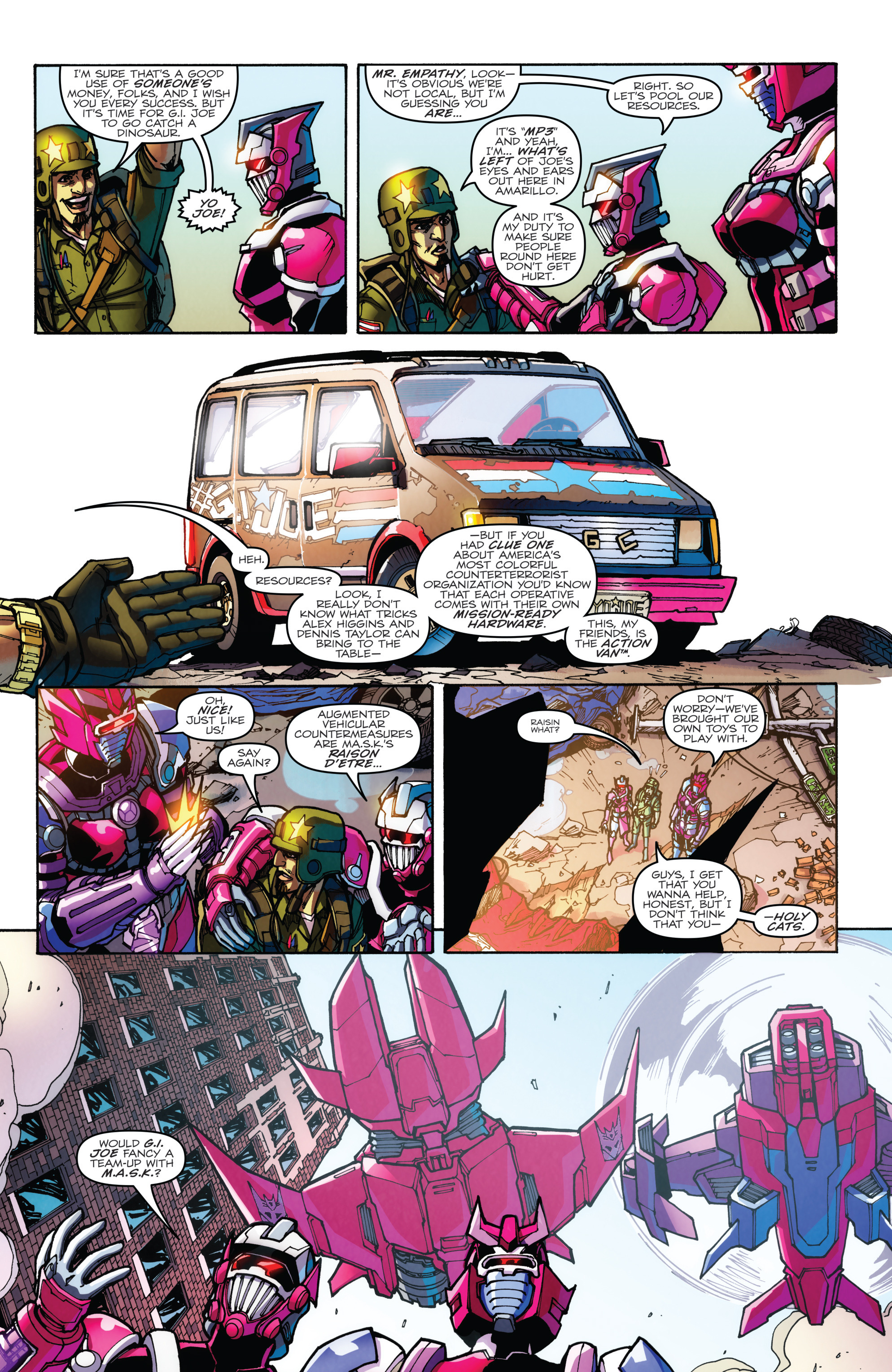 Read online Transformers: Till All Are One comic -  Issue #5 - 32