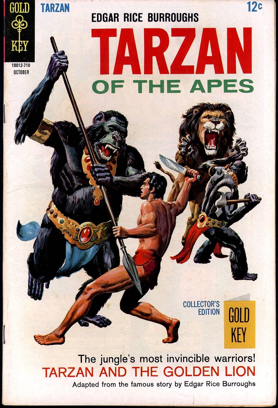 Tarzan (1962) issue 172 - Page 1