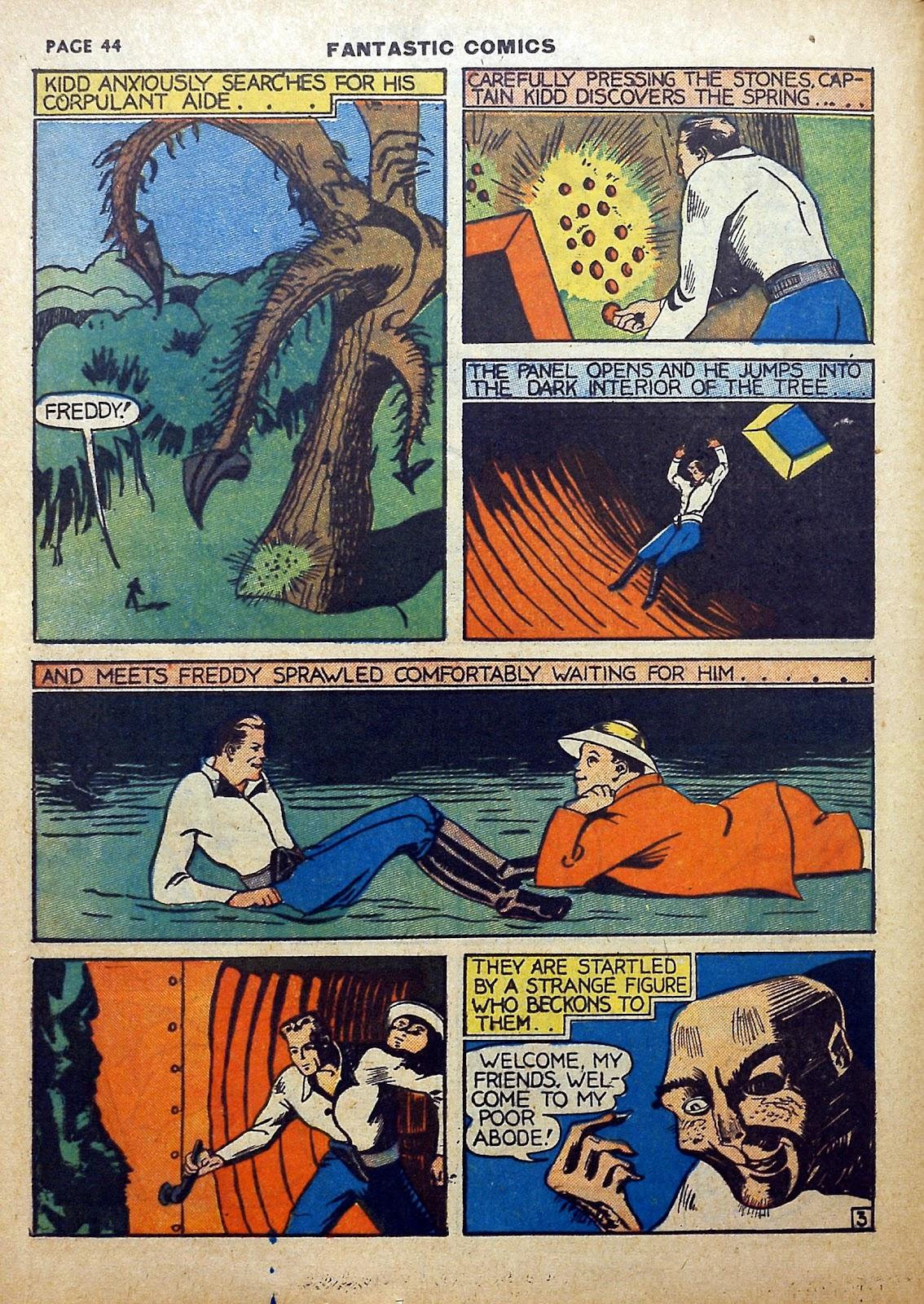 Read online Fantastic Comics comic -  Issue #5 - 45