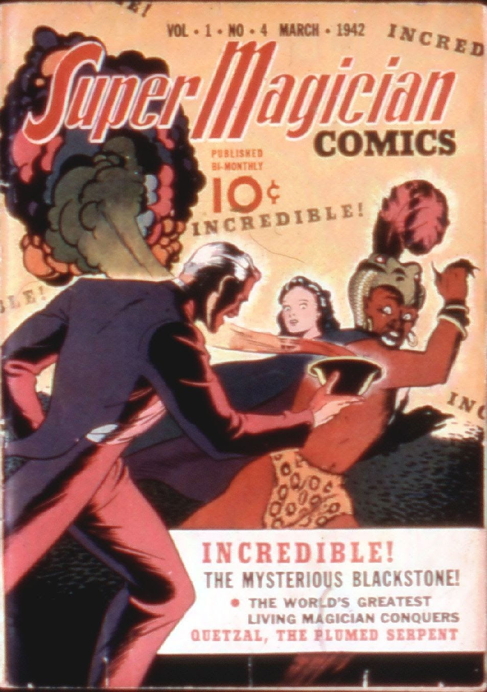 Read online Super-Magician Comics comic -  Issue #4 - 1