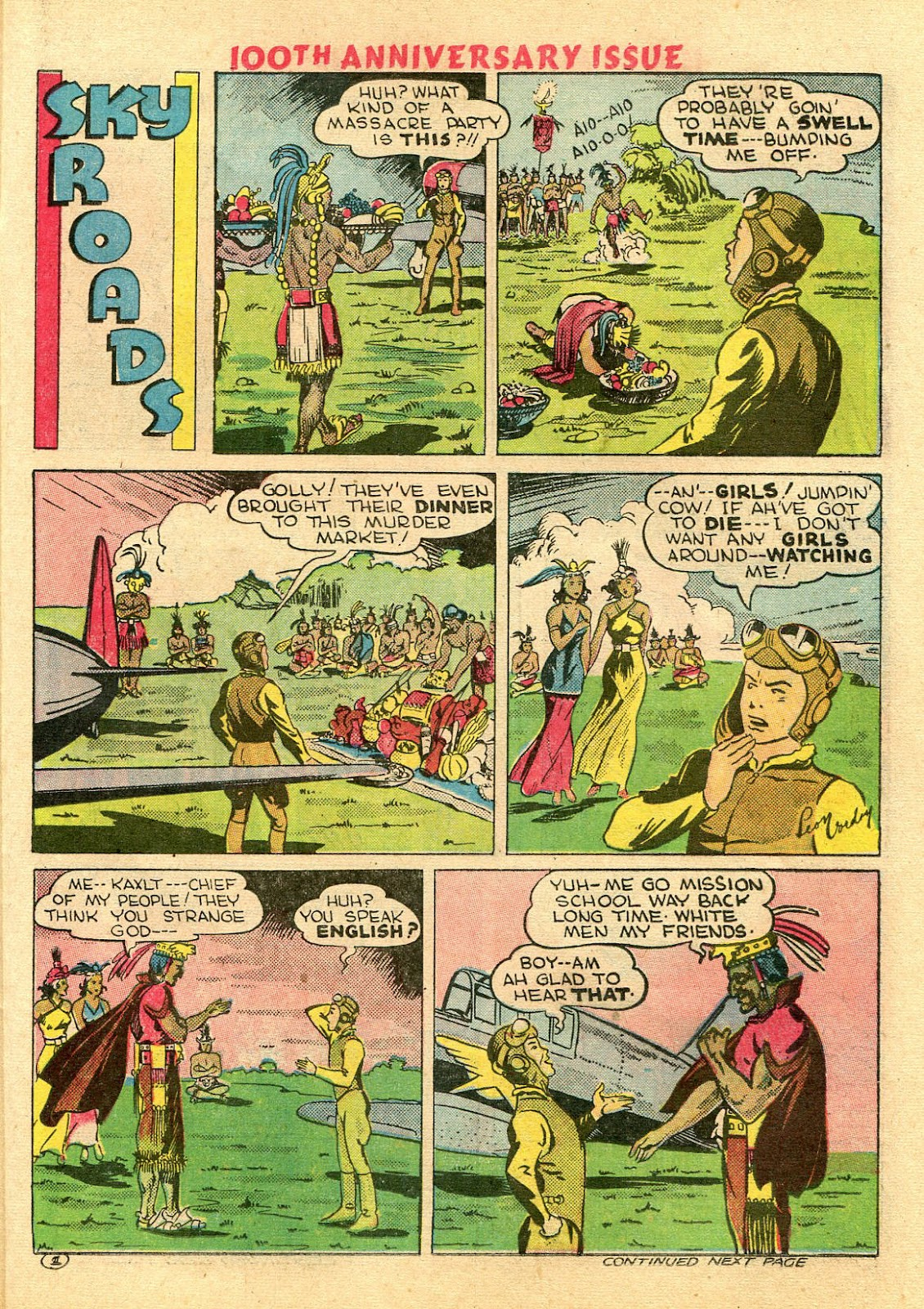 Read online Famous Funnies comic -  Issue #100 - 47