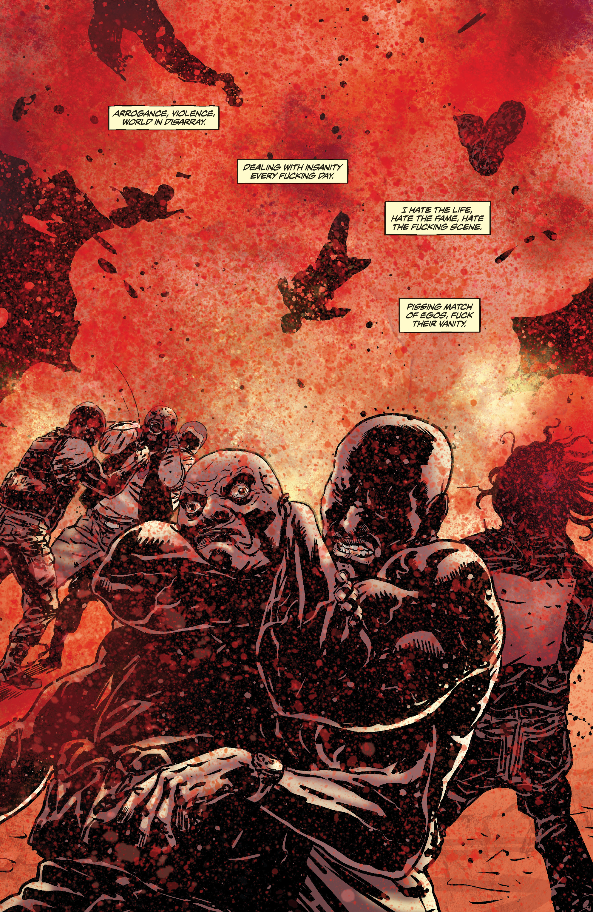 Read online Slayer: Repentless comic -  Issue #3 - 14