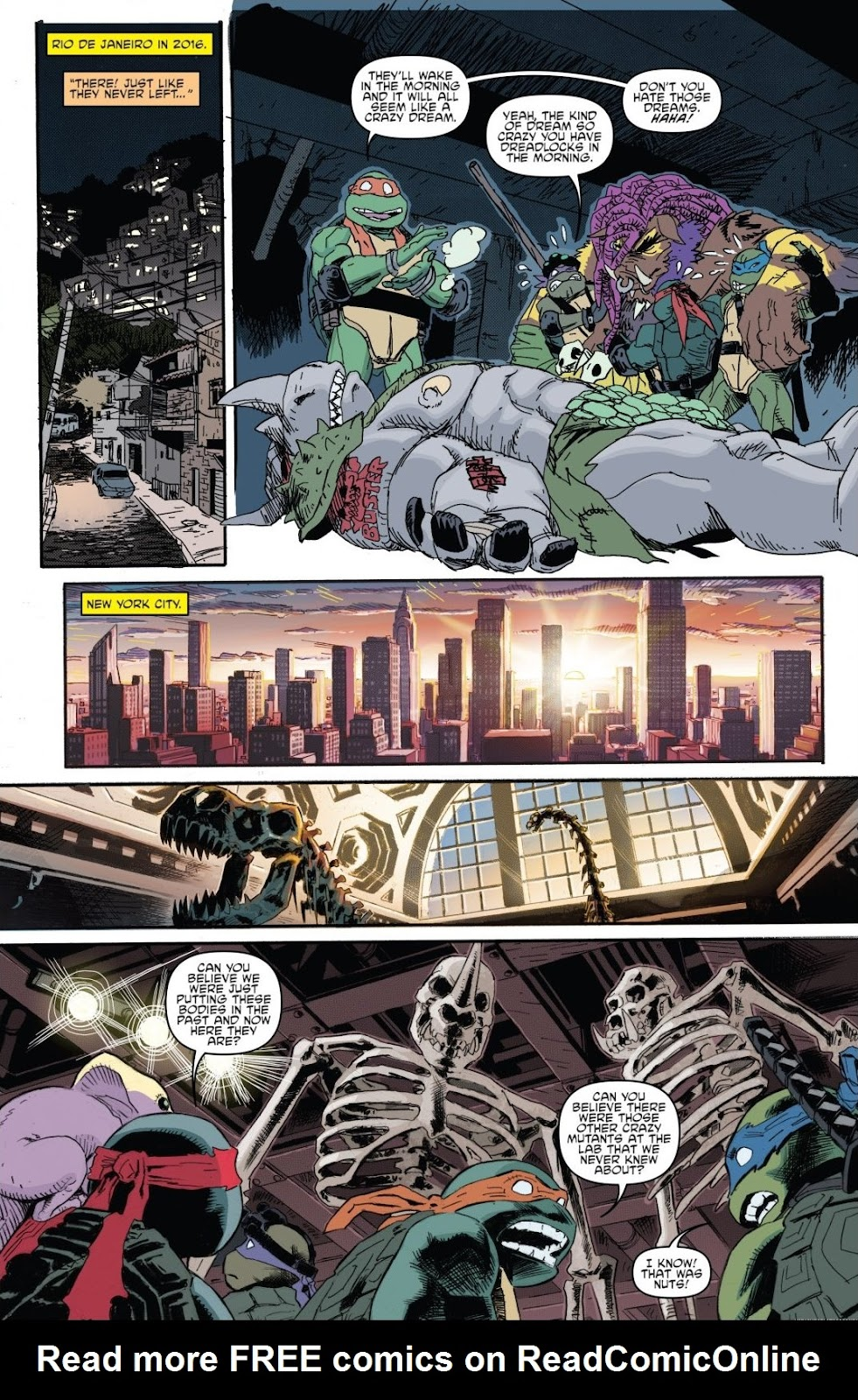Read online Teenage Mutant Ninja Turtles: The IDW Collection comic -  Issue # TPB 8 (Part 2) - 5