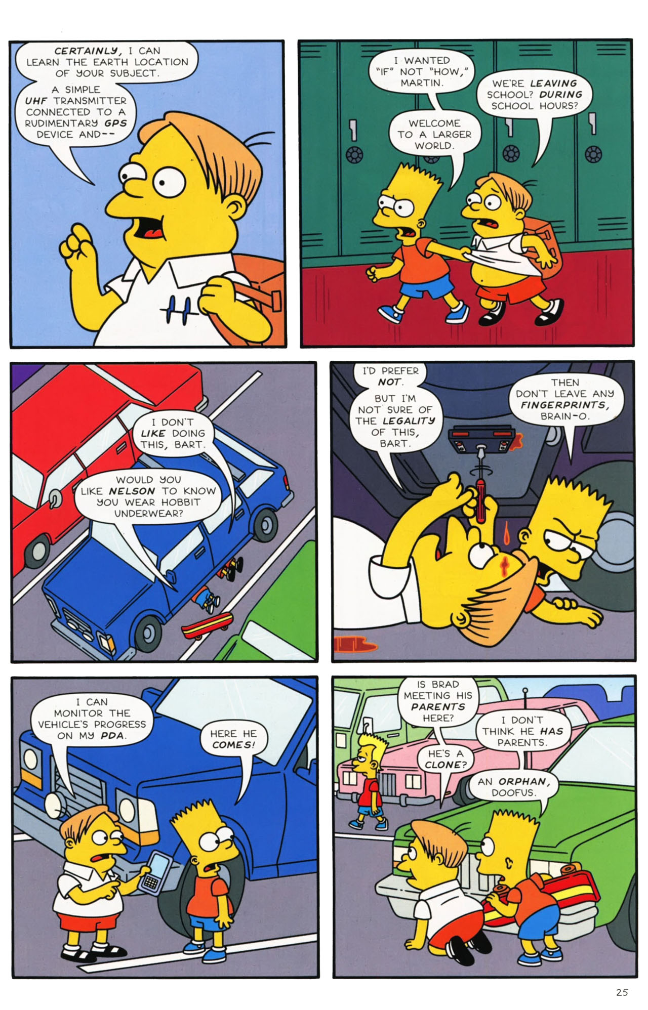 Read online Simpsons Comics comic -  Issue #169 - 20
