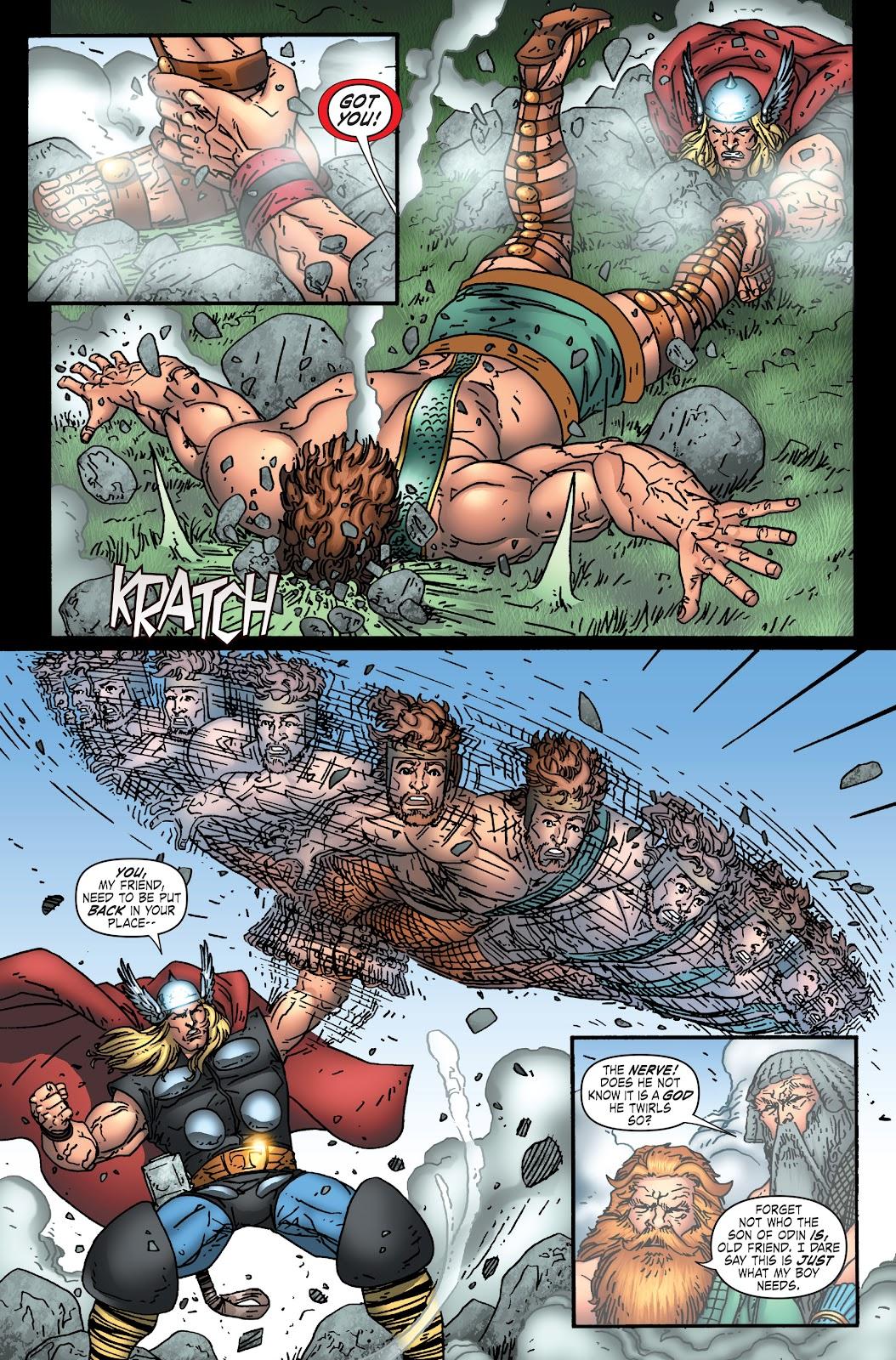 Read online Thor: Ragnaroks comic -  Issue # TPB (Part 1) - 63