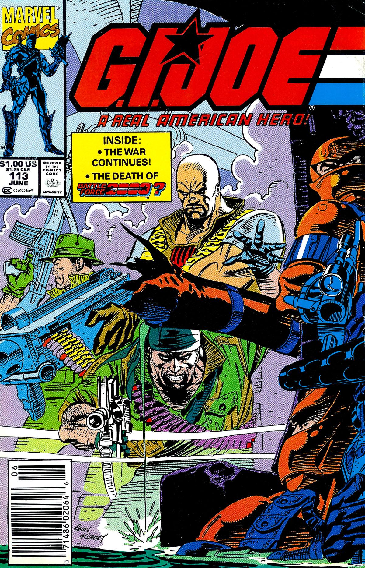 G.I. Joe: A Real American Hero 113 Page 1