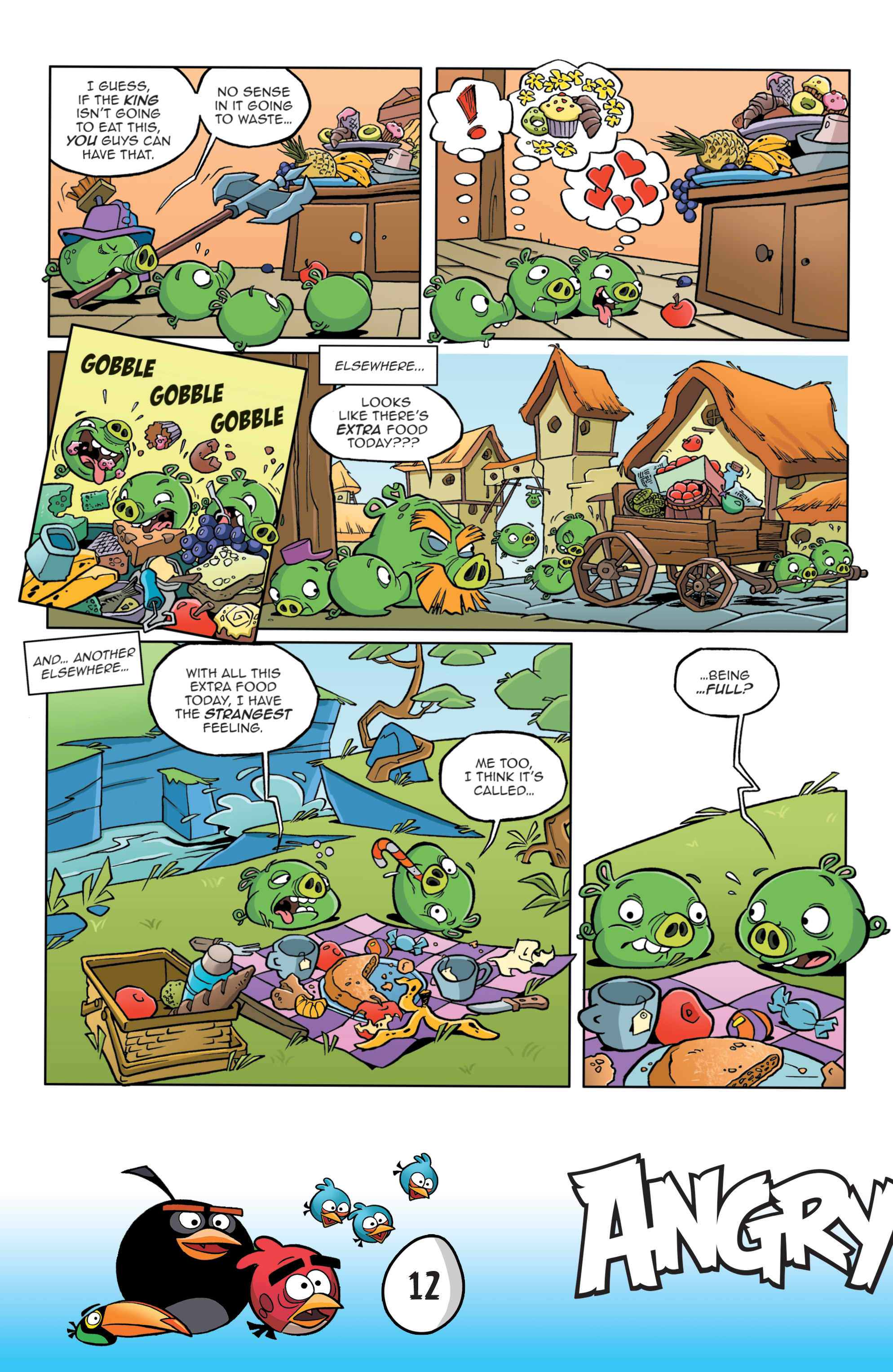 Read online Angry Birds Comics: Game Play comic -  Issue #3 - 14