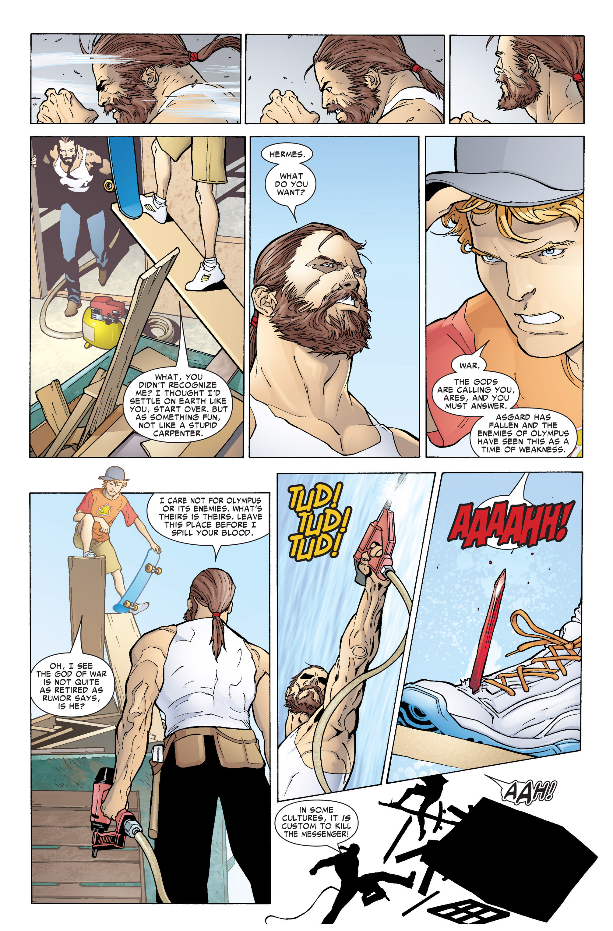 Read online Ares comic -  Issue #1 - 11