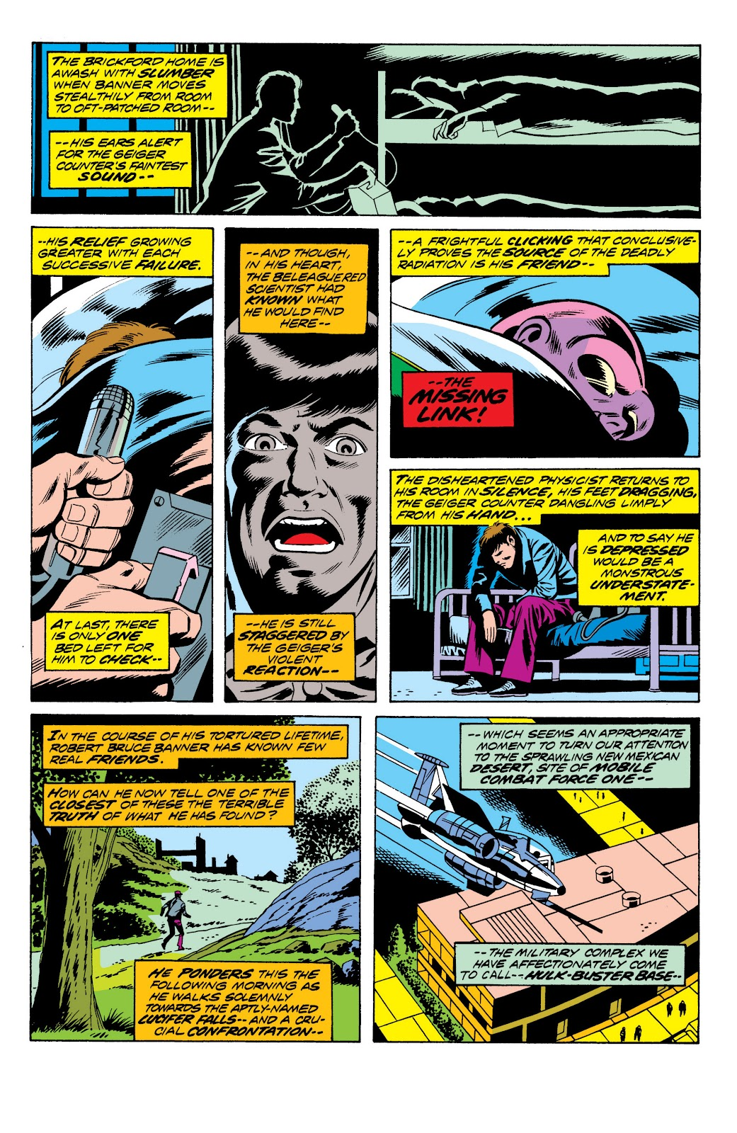Read online Marvel Masterworks: The Incredible Hulk comic -  Issue # TPB 10 (Part 2) - 75