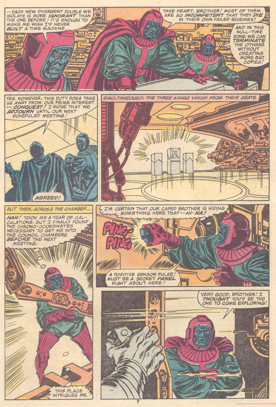 The Avengers (1963) 267 Page 7