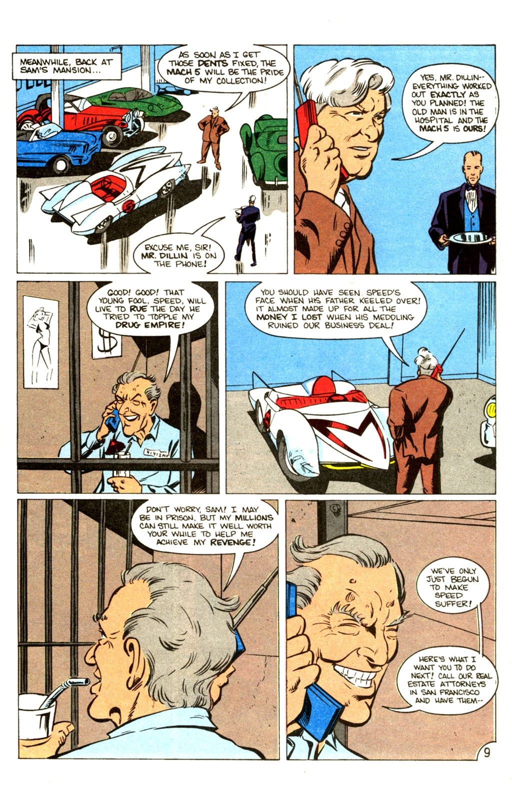 Speed Racer (1987) issue 30 - Page 10
