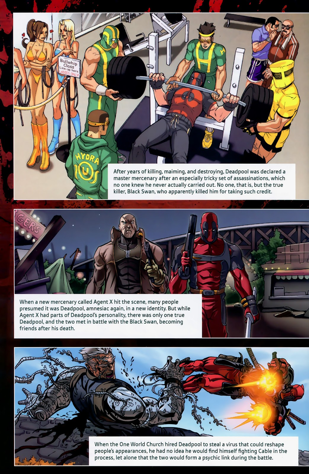 Read online Deadpool (2008) comic -  Issue #1 - 30