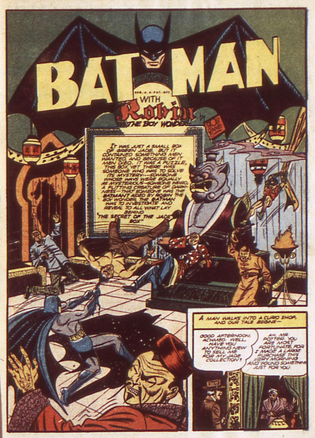 Read online Detective Comics (1937) comic -  Issue #52 - 3