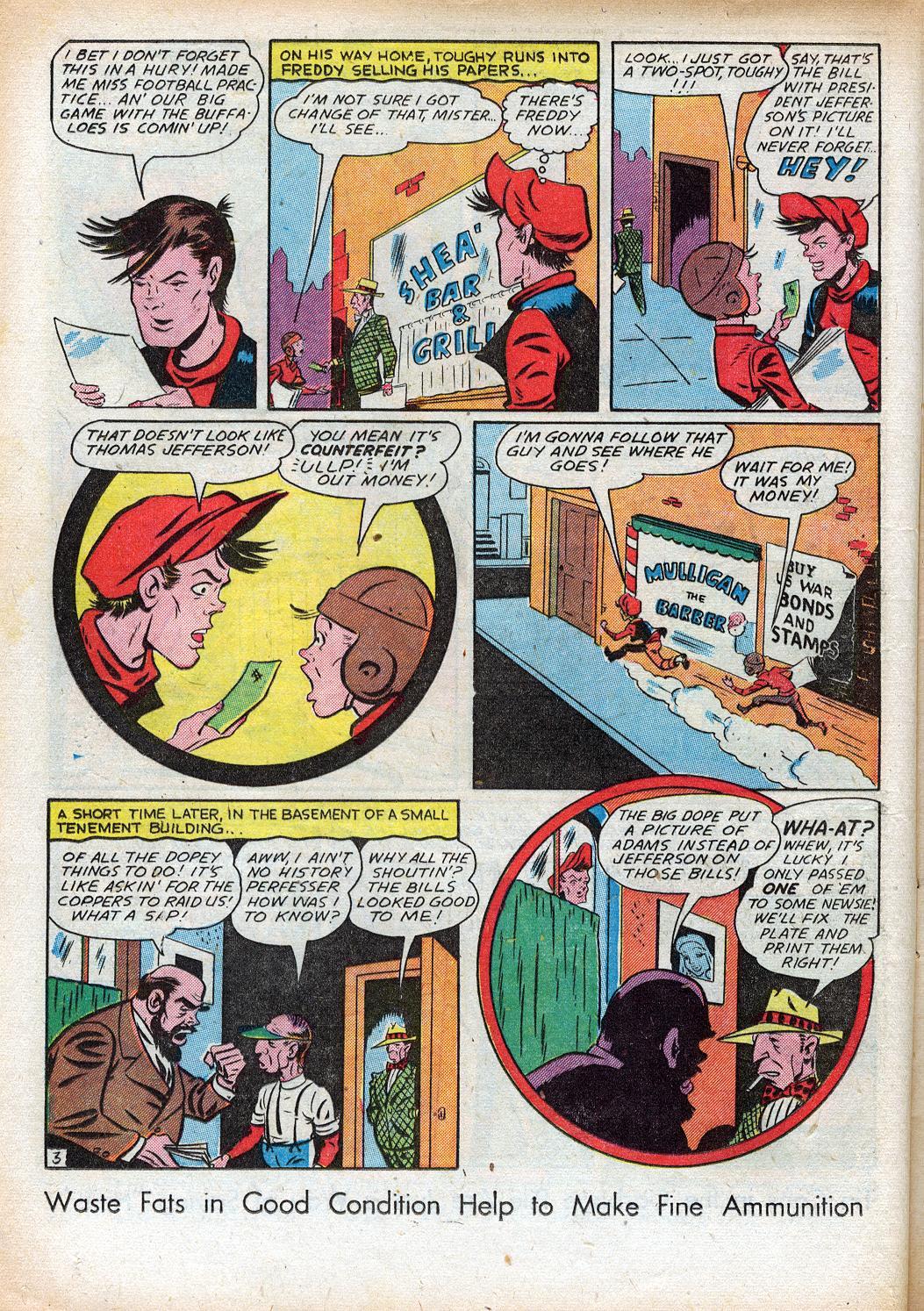 Read online Sensation (Mystery) Comics comic -  Issue #33 - 18
