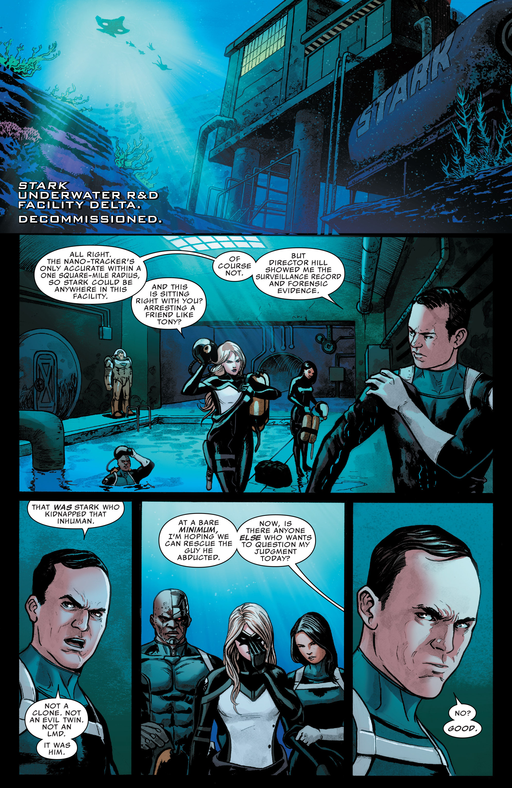 Read online Agents of S.H.I.E.L.D. comic -  Issue #7 - 11