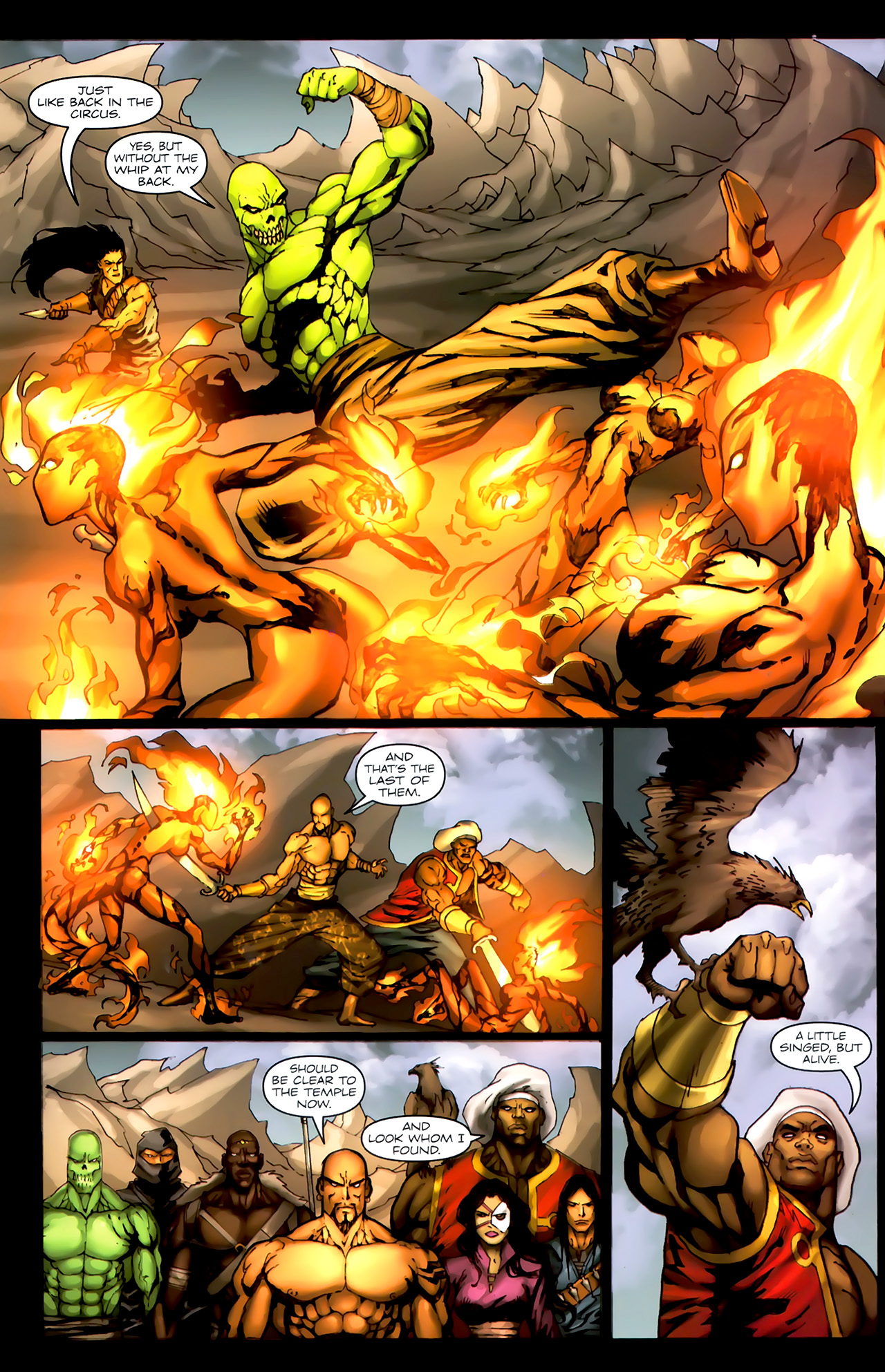 Read online 1001 Arabian Nights: The Adventures of Sinbad comic -  Issue #4 - 23
