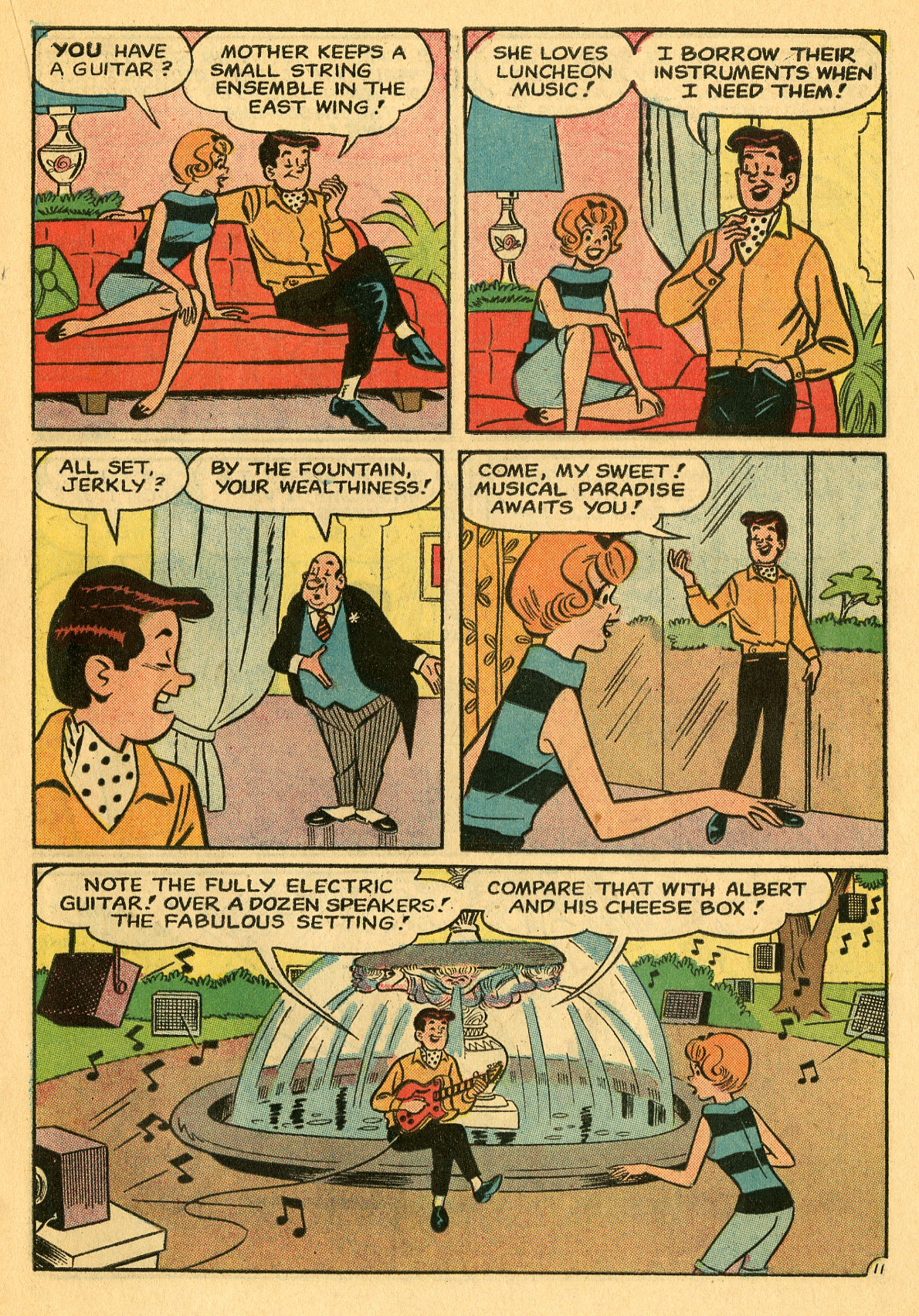 Read online She's Josie comic -  Issue #7 - 15