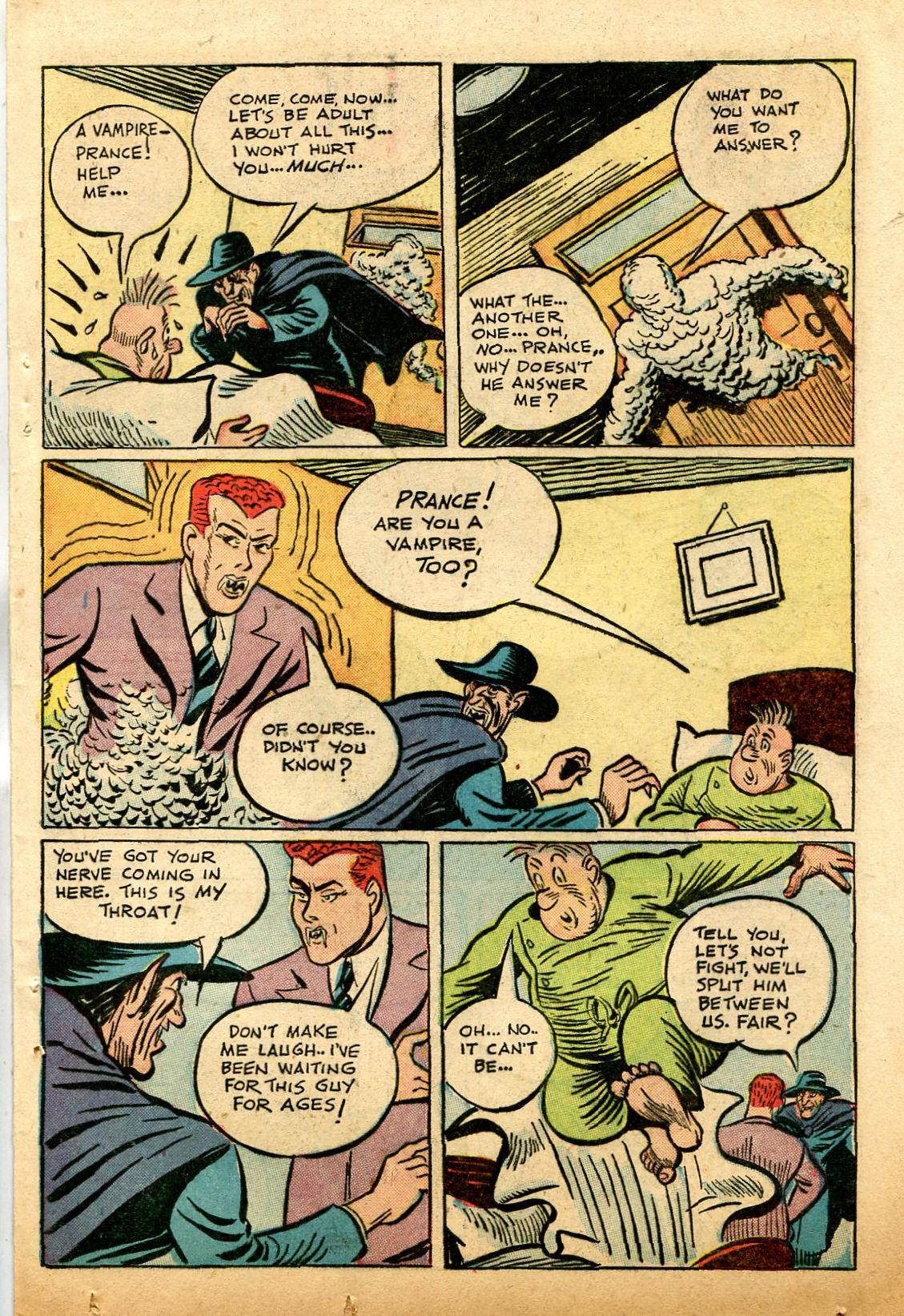 Read online Shadow Comics comic -  Issue #74 - 33