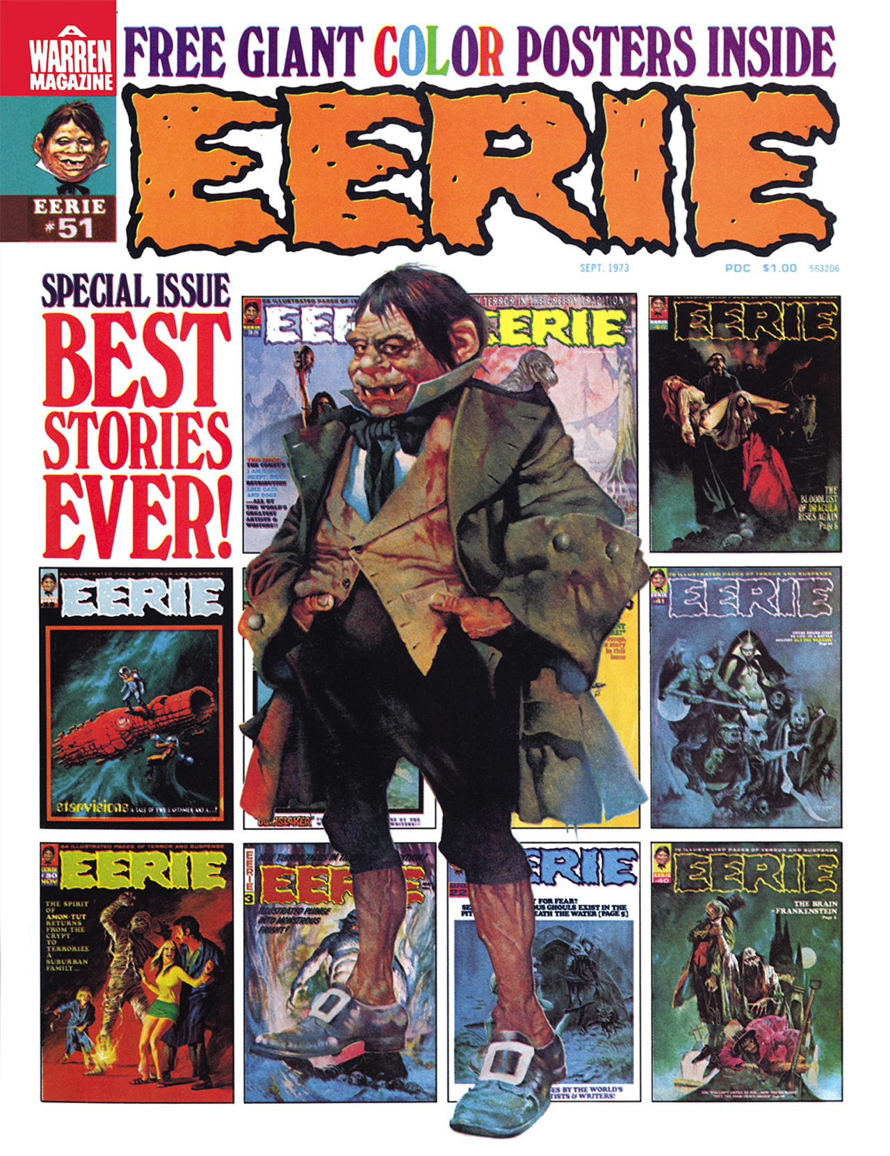 Read online Eerie Archives comic -  Issue # TPB 10 - 263