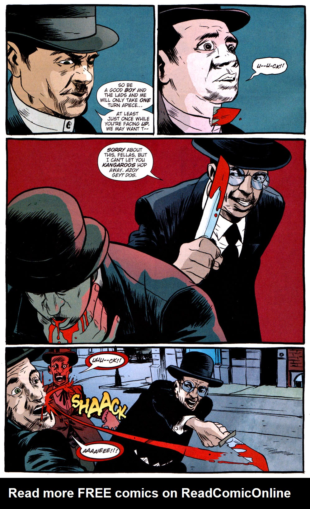 Read online Caper comic -  Issue #3 - 9