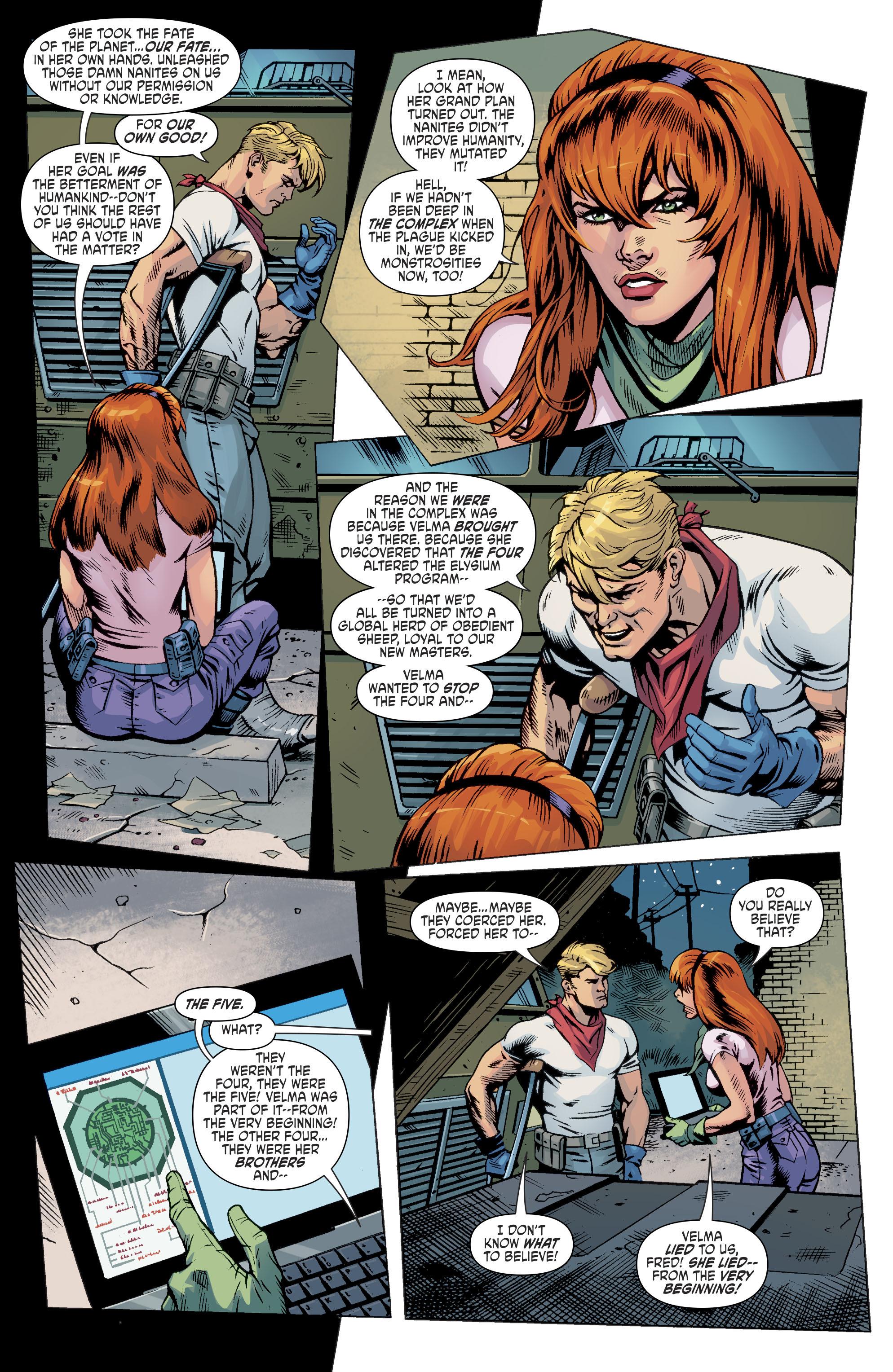 Read online Scooby Apocalypse comic -  Issue #11 - 7