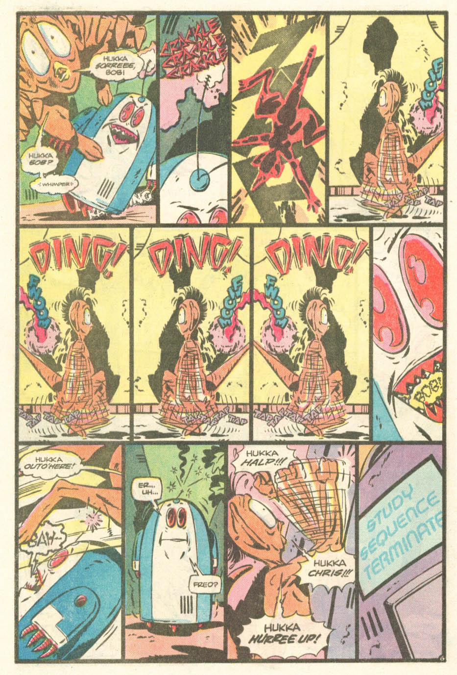 Read online Atari Force (1984) comic -  Issue #20 - 25
