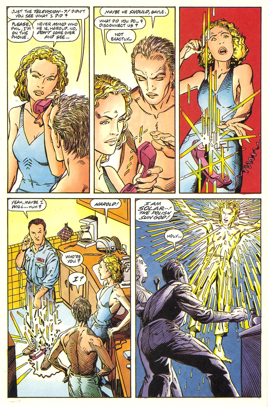 Read online Solar, Man of the Atom comic -  Issue #7 - 20