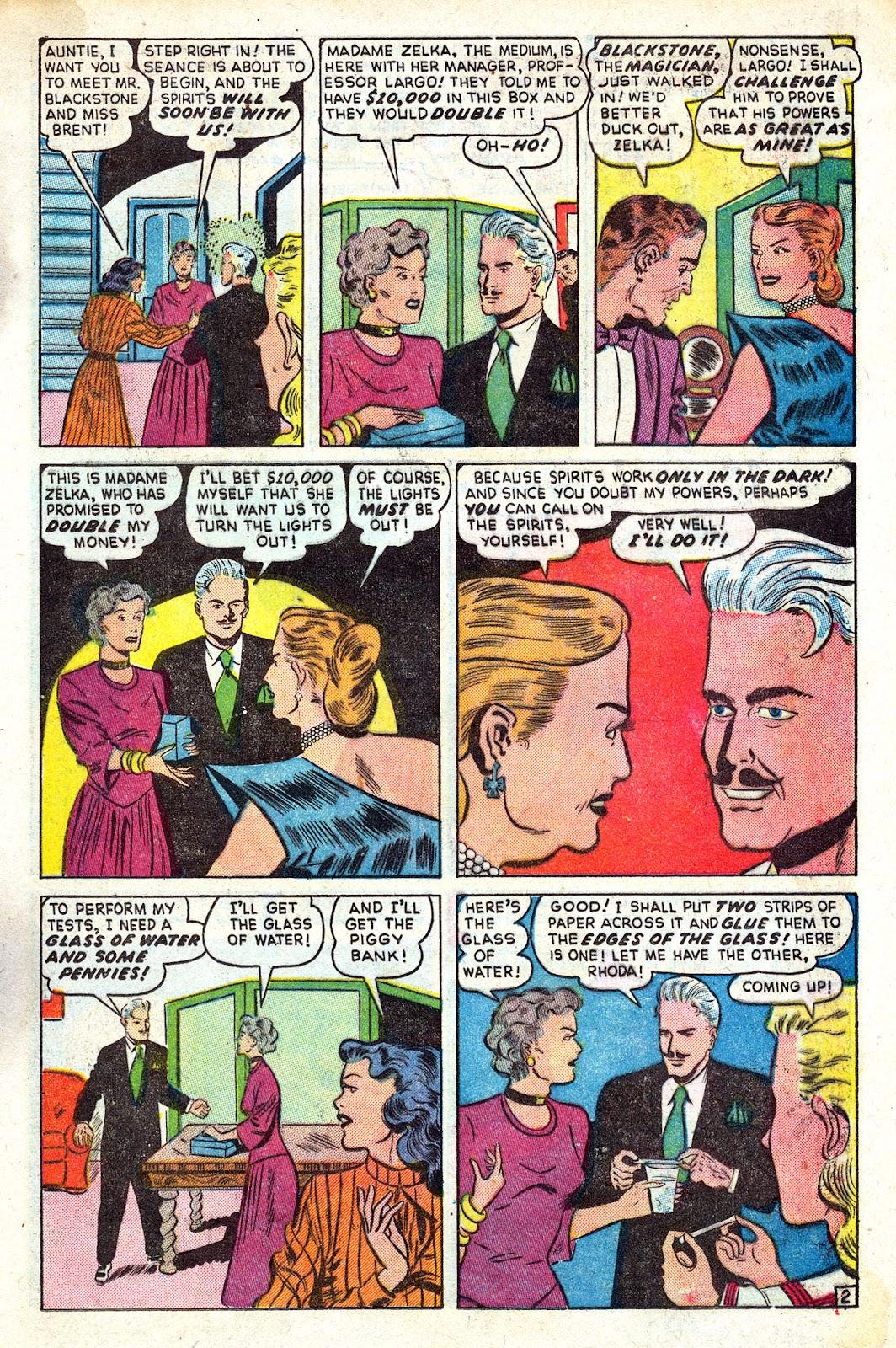 Read online Blackstone the Magician comic -  Issue #4 - 13
