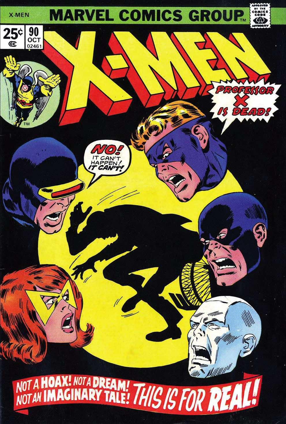Uncanny X-Men (1963) 90 Page 1