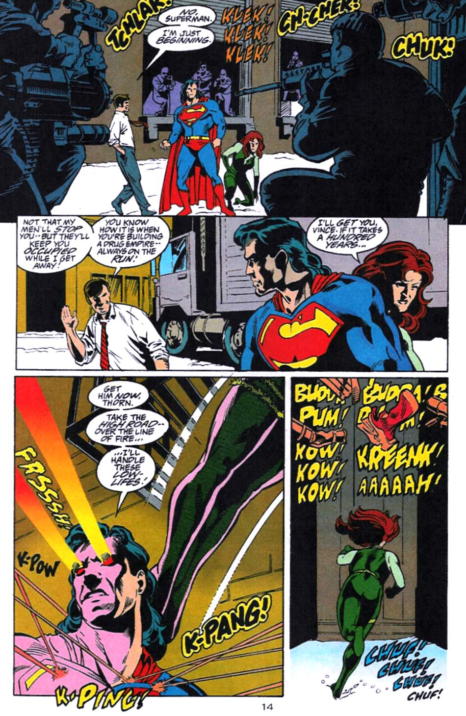 Read online Adventures of Superman (1987) comic -  Issue #521 - 15