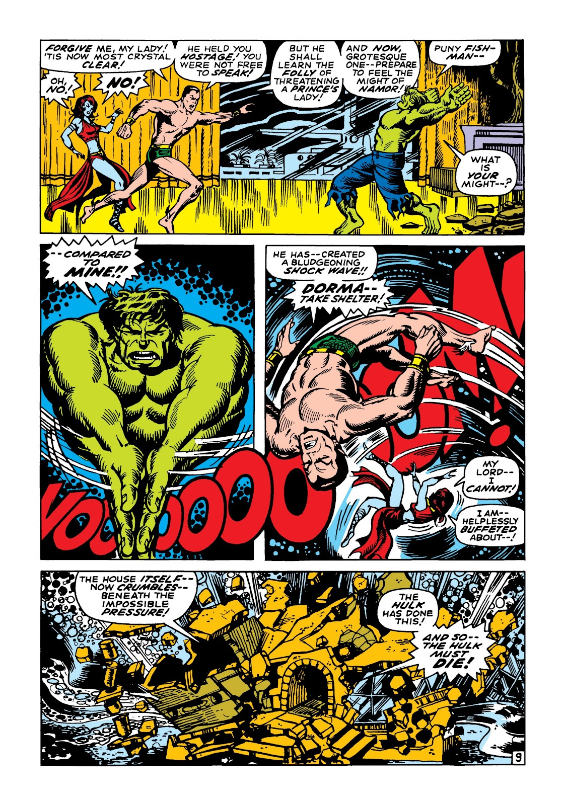 Read online Marvel Masterworks: The Incredible Hulk comic -  Issue # TPB 5 (Part 2) - 62