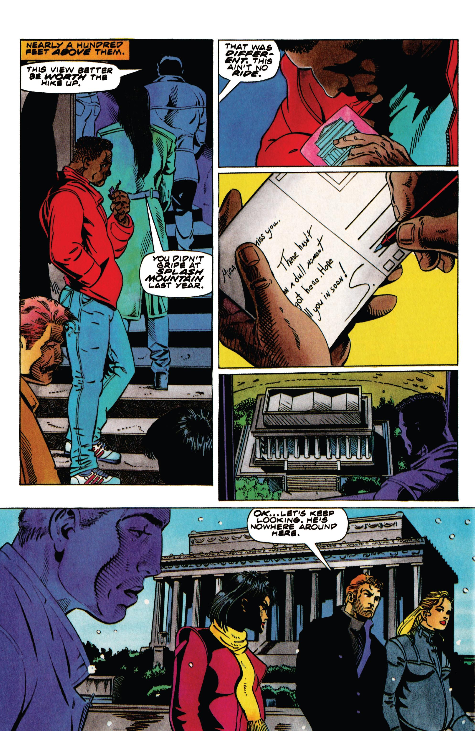 Read online Harbinger (1992) comic -  Issue #41 - 6