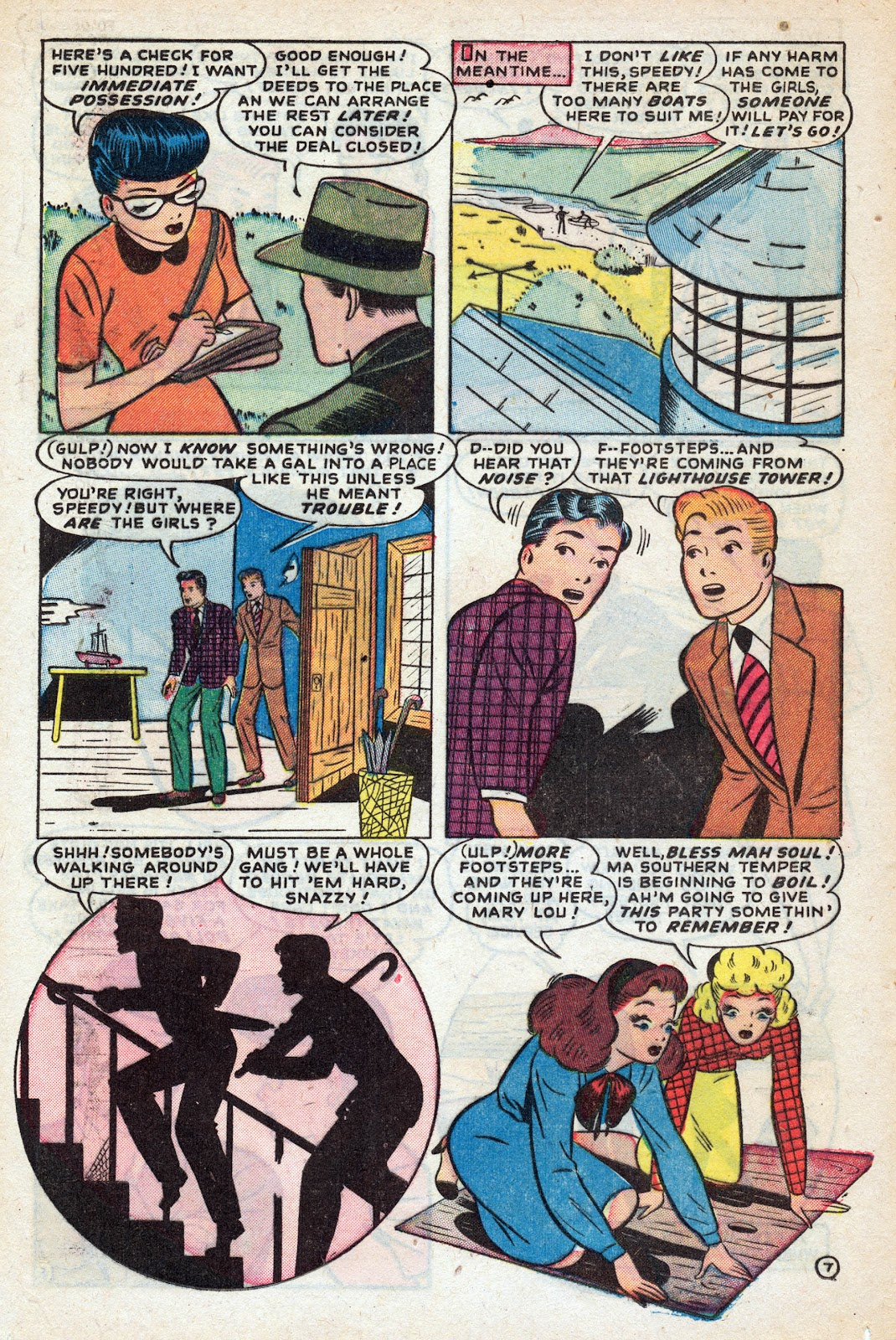 Read online Nellie The Nurse (1945) comic -  Issue #17 - 16