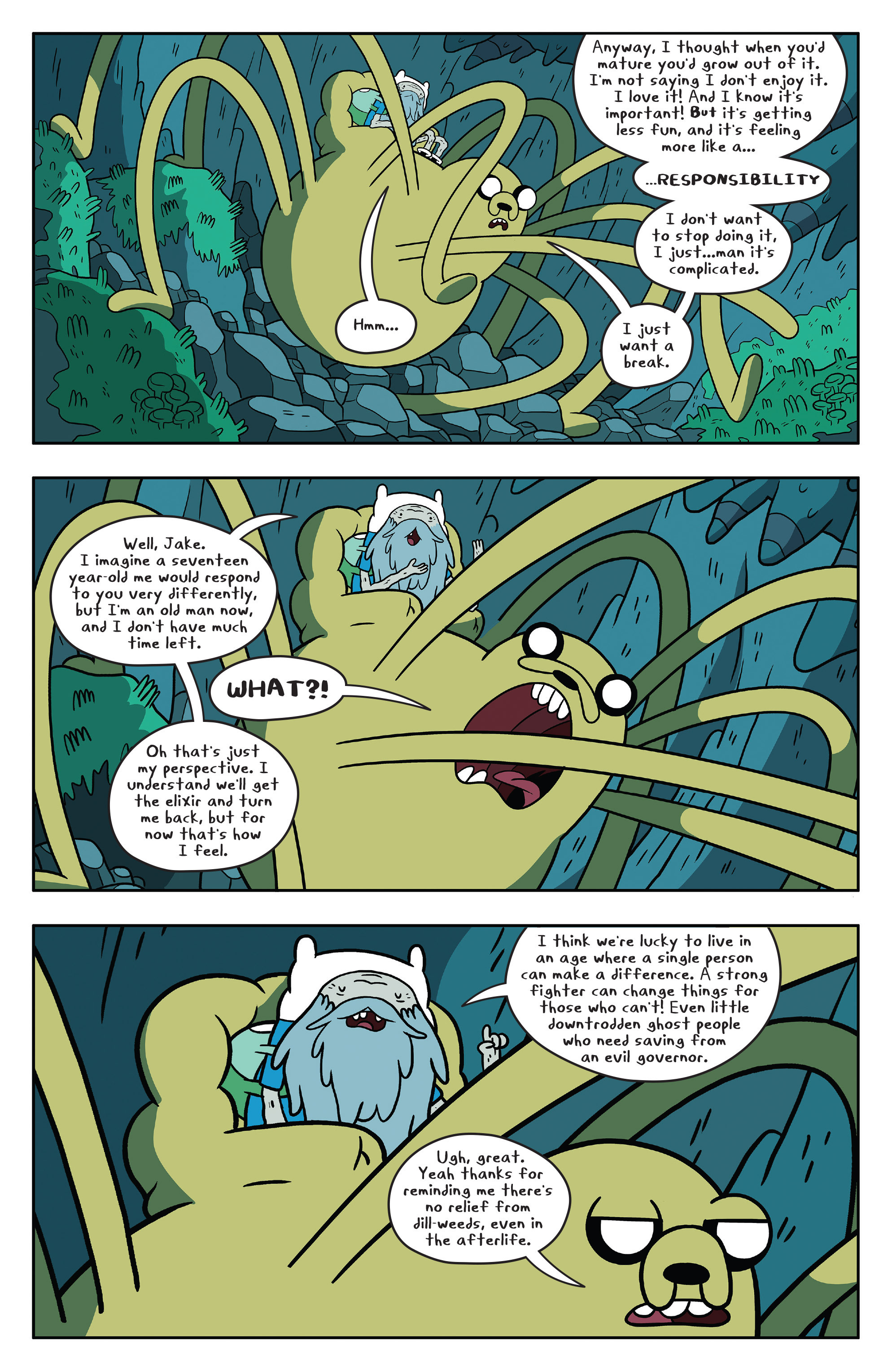 Read online Adventure Time comic -  Issue #51 - 18