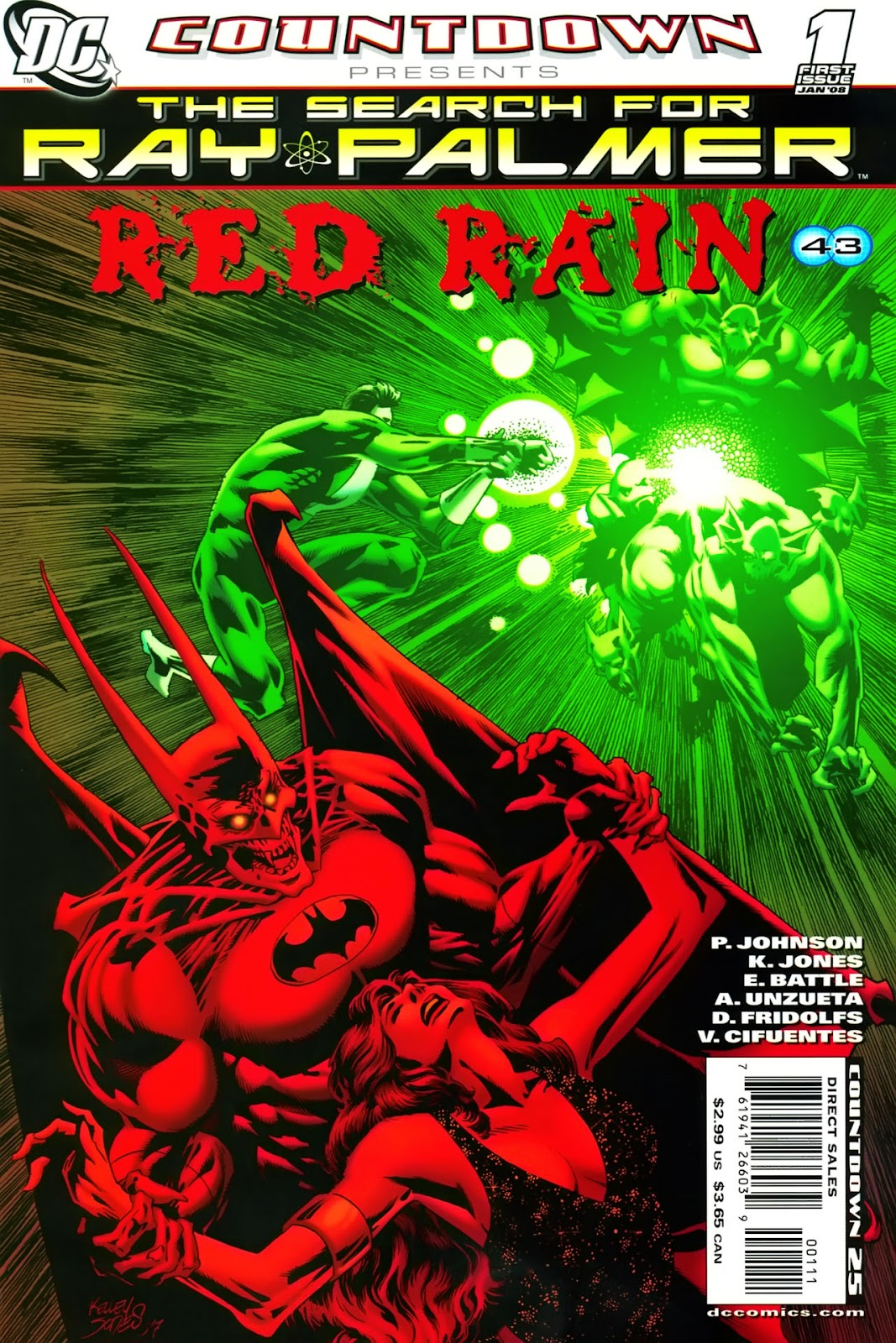 Countdown Presents: The Search for Ray Palmer issue Red Rain (2008) - Page 1