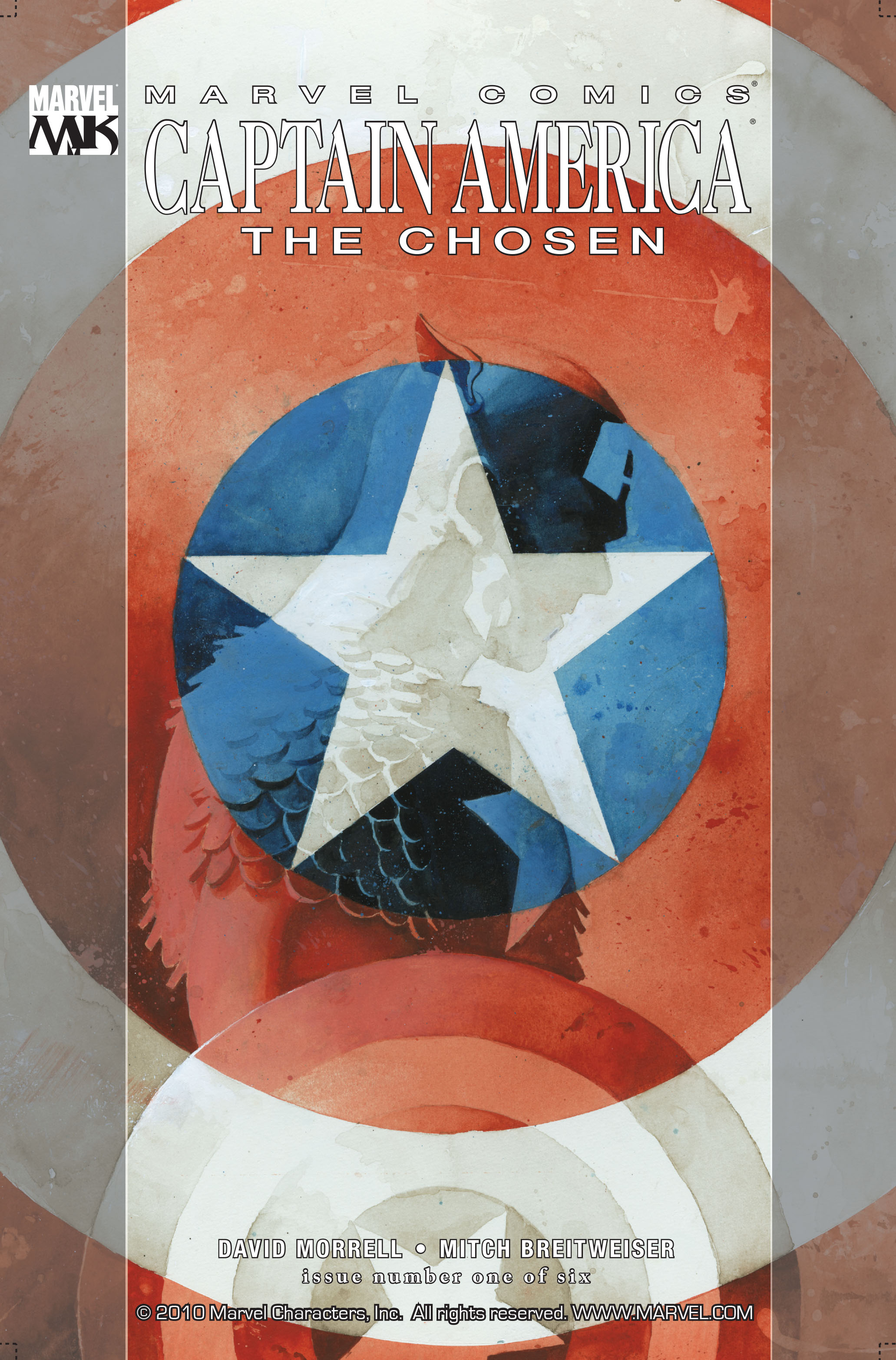 Captain America: The Chosen 1 Page 1