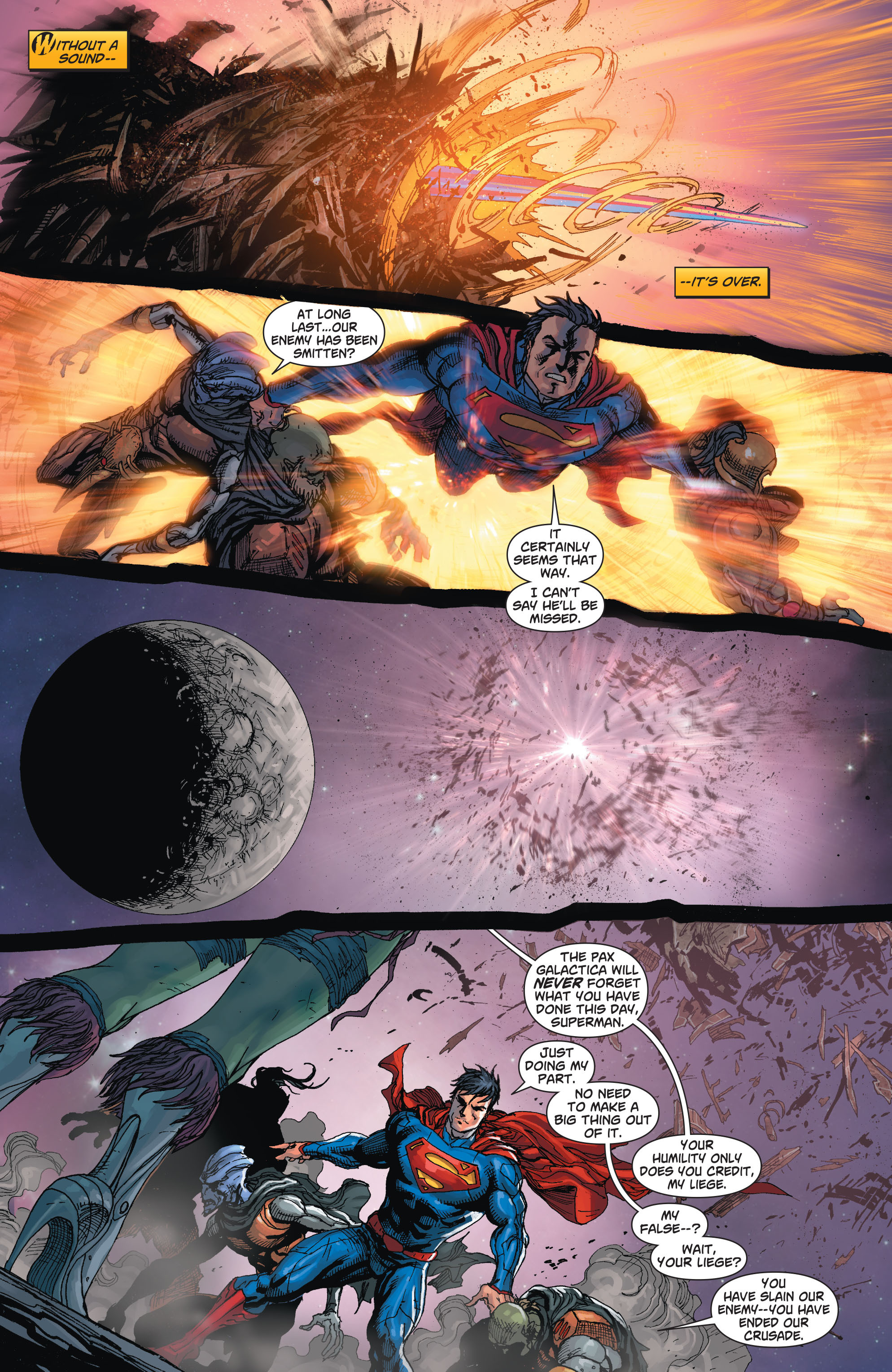 Read online Action Comics (2011) comic -  Issue #23 - 16