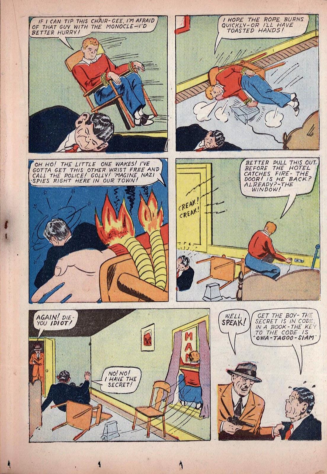 Read online Super-Magician Comics comic -  Issue #20 - 35
