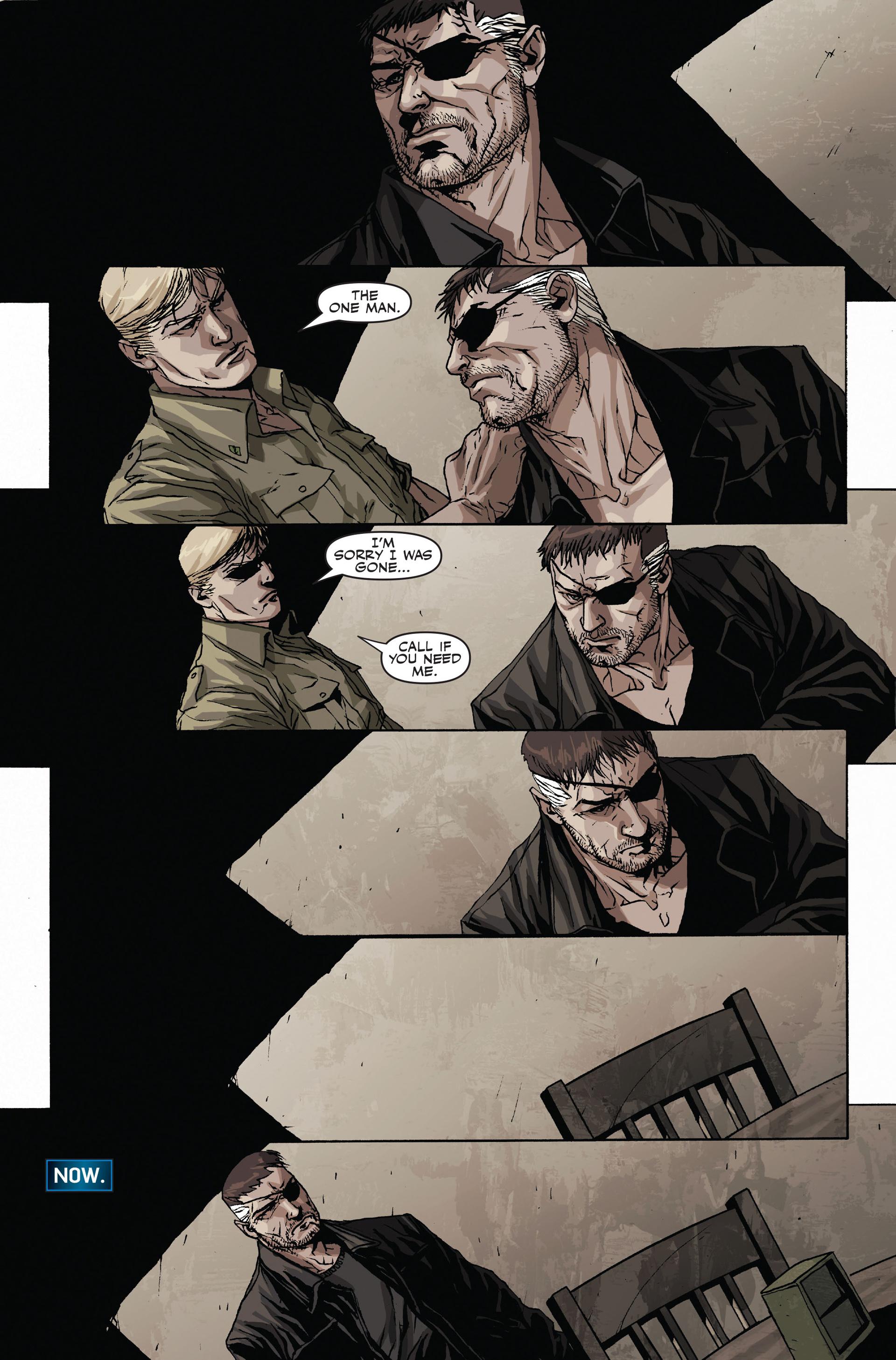 Read online Secret Warriors comic -  Issue #19 - 24