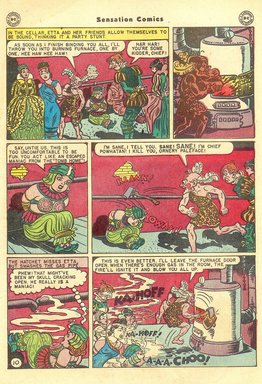 Read online Sensation (Mystery) Comics comic -  Issue #57 - 12