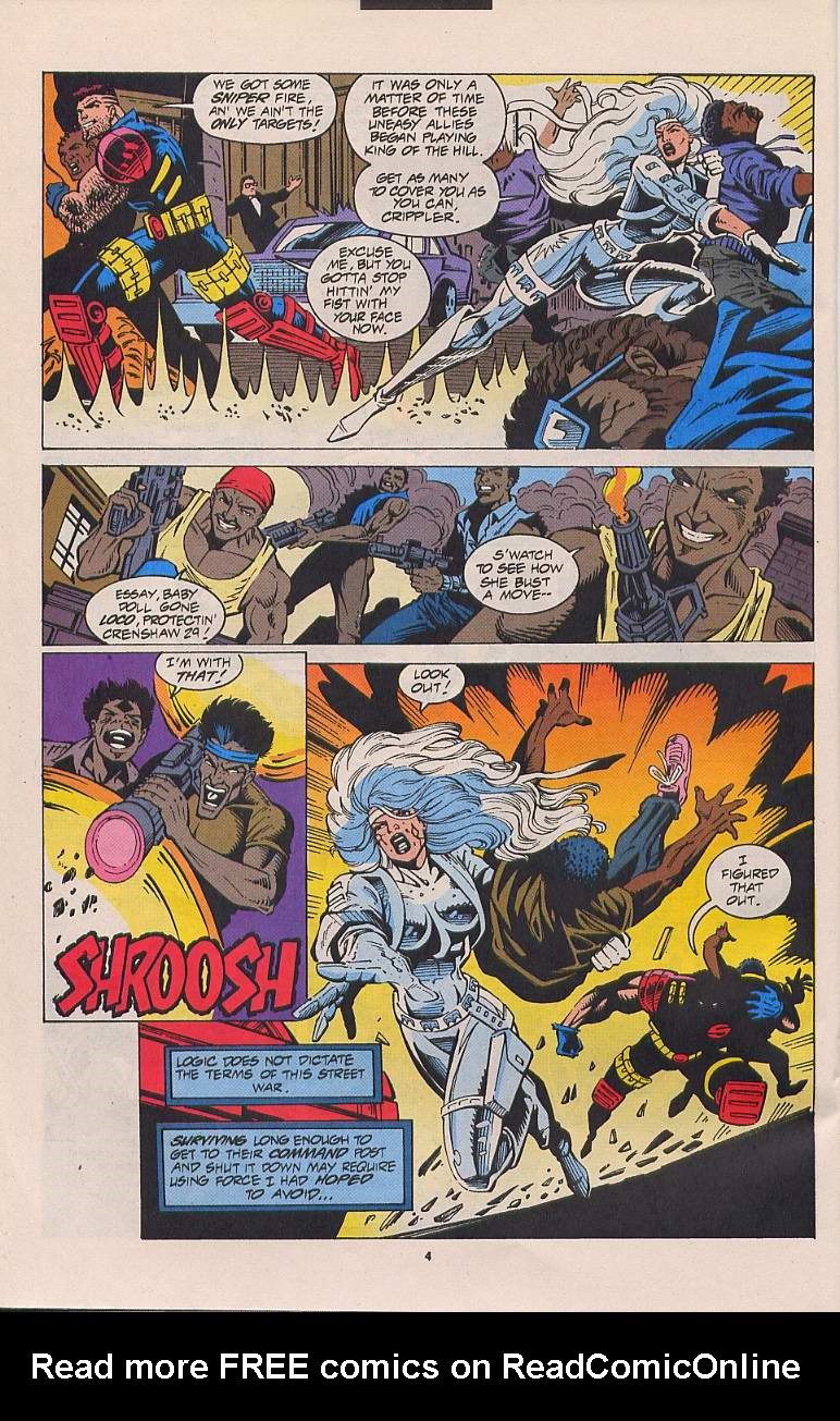 Read online Silver Sable and the Wild Pack comic -  Issue #21 - 5