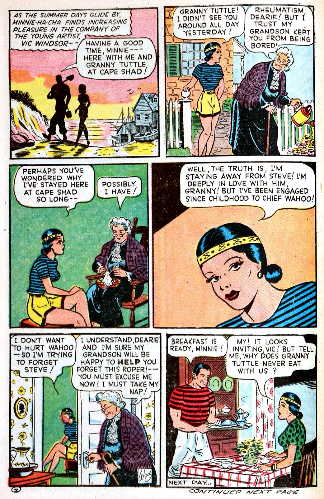 Read online Famous Funnies comic -  Issue #139 - 22