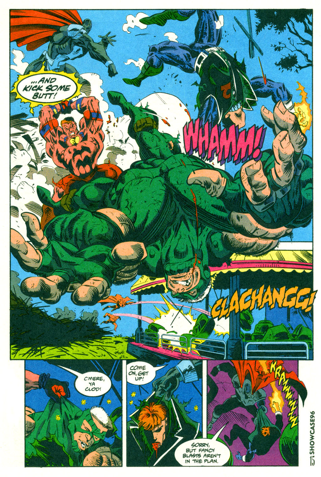 Read online Showcase '96 comic -  Issue #2 - 13