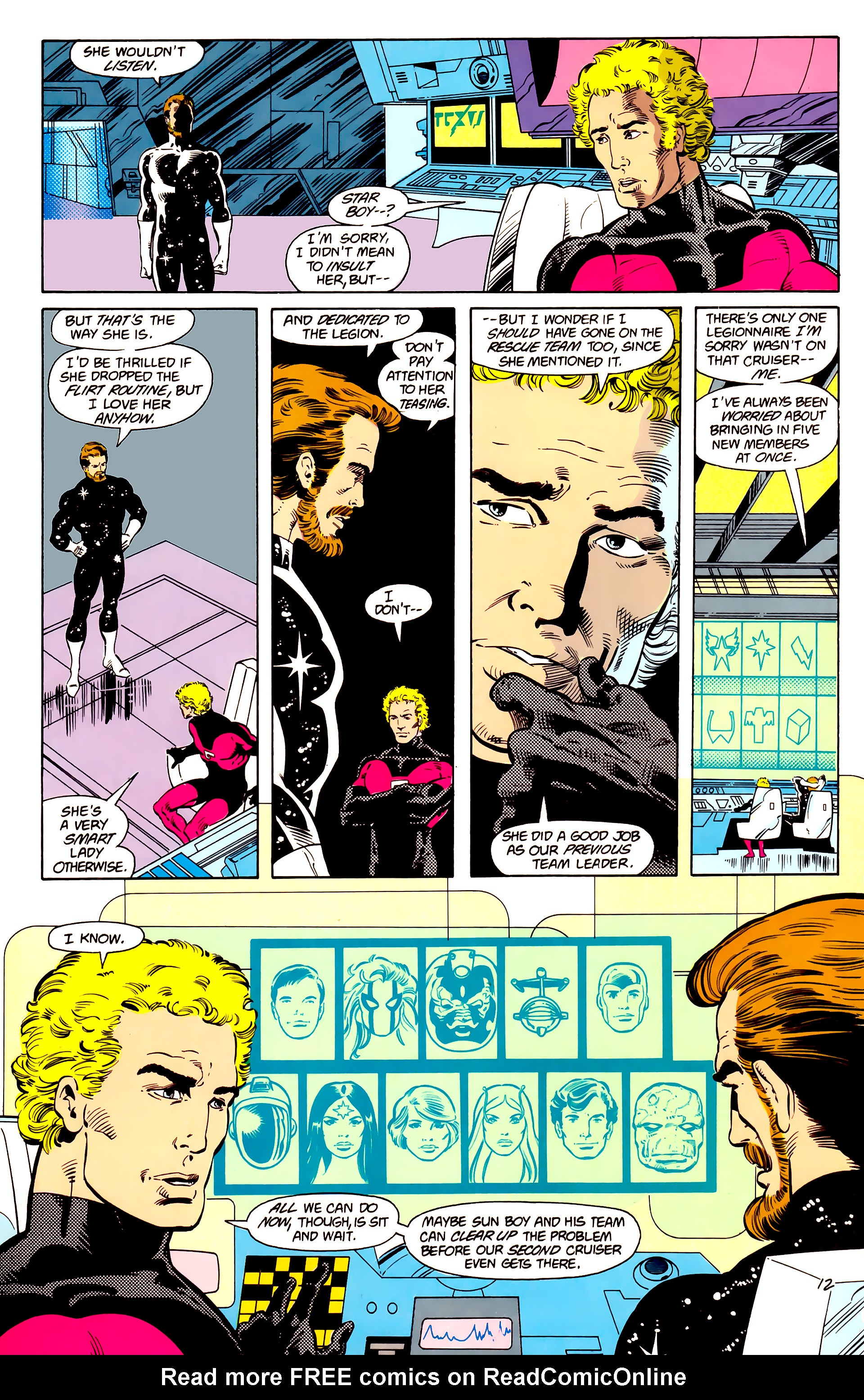Legion of Super-Heroes (1984) 15 Page 13