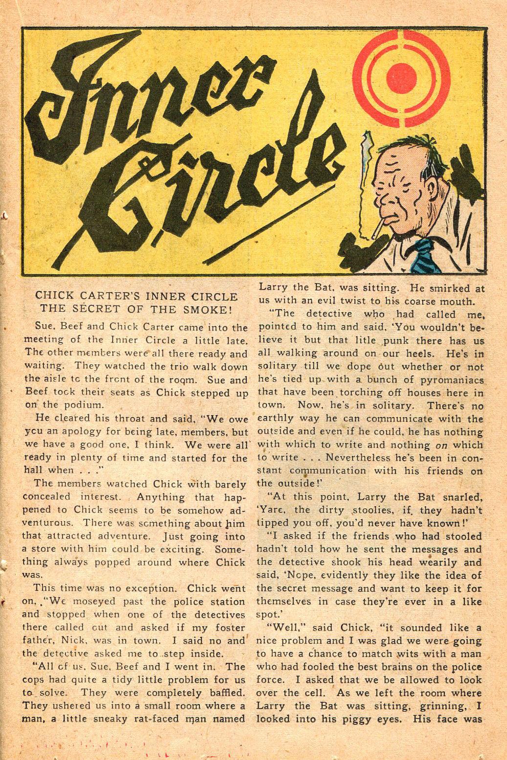 Read online Shadow Comics comic -  Issue #60 - 27
