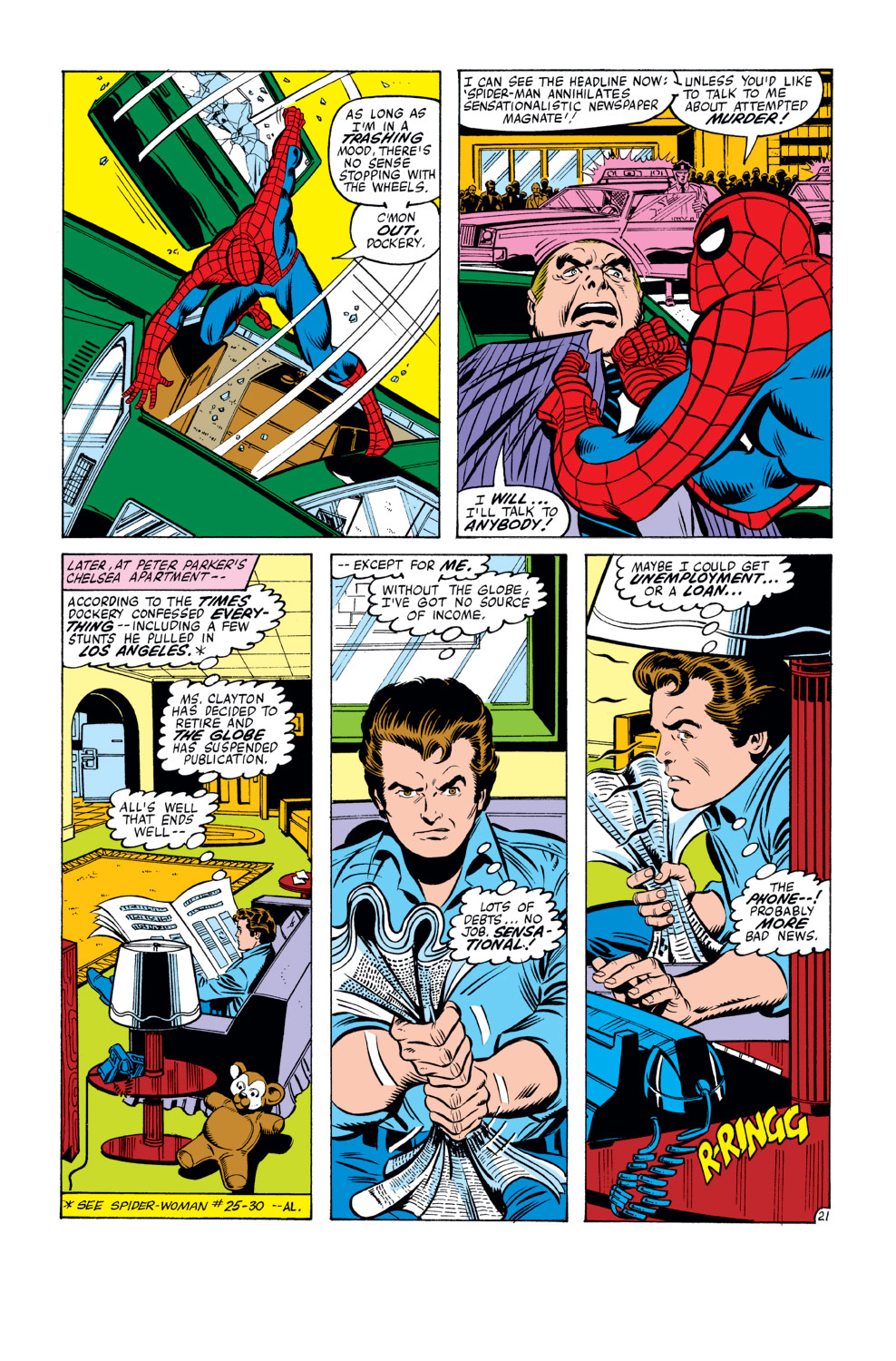 The Amazing Spider-Man (1963) 210 Page 21