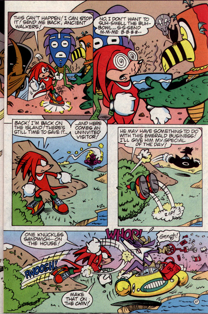 Read online Sonic The Hedgehog Triple Trouble Special comic -  Issue # Full - 19