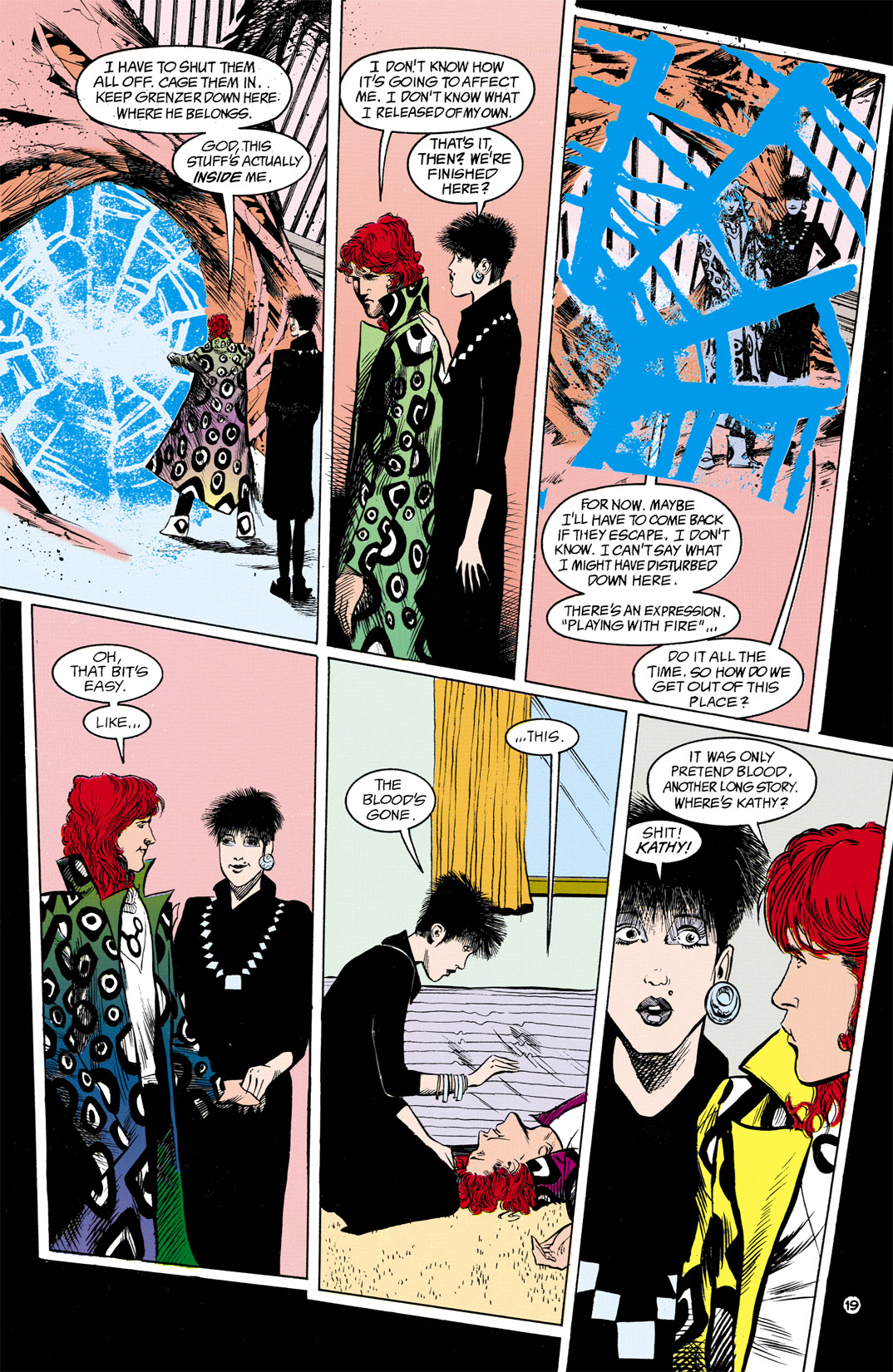 Read online Shade, the Changing Man comic -  Issue #13 - 20